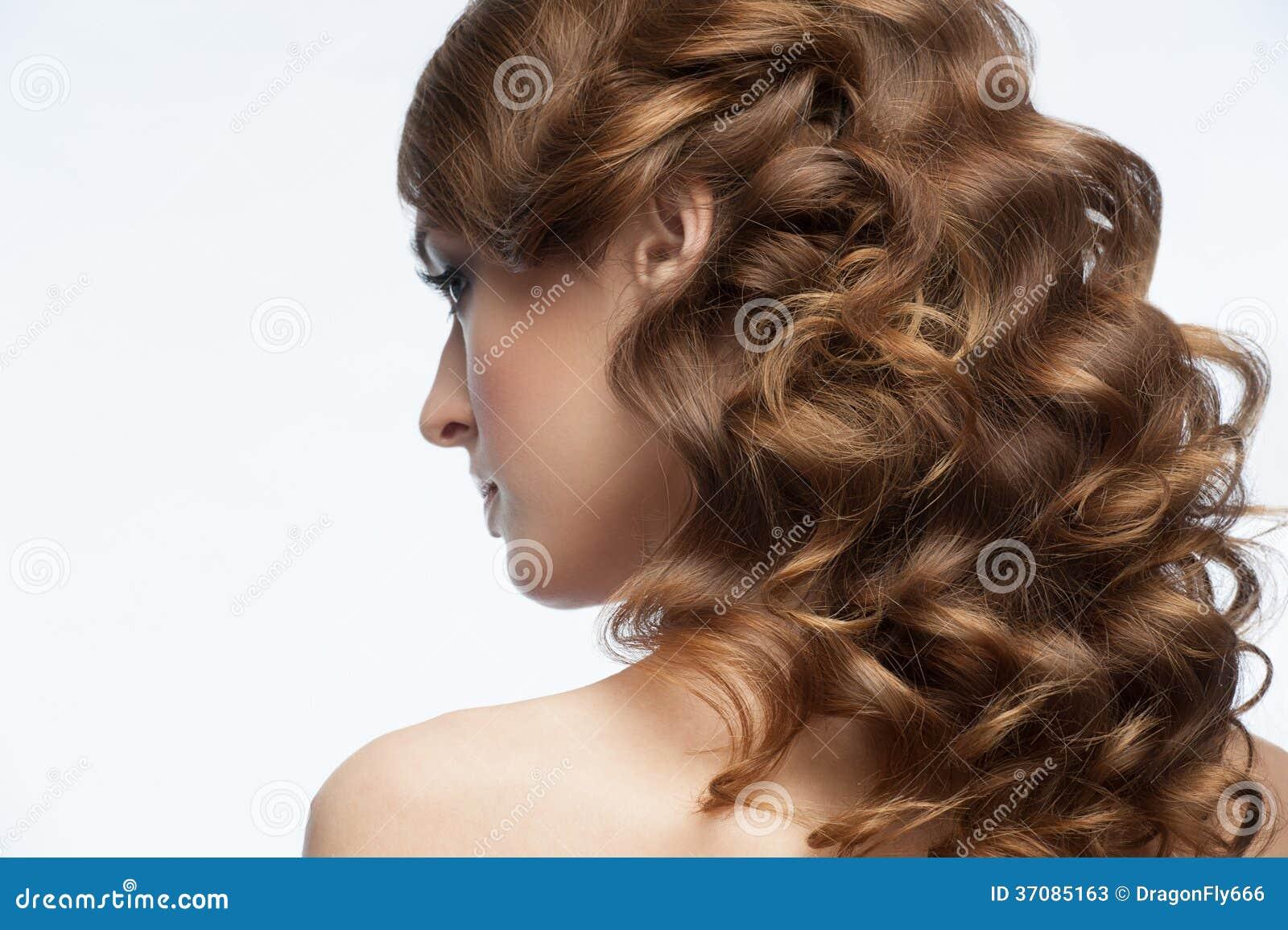 Download Kędzierzawa fryzura obraz stock. Obraz złożonej z długi - 37085163