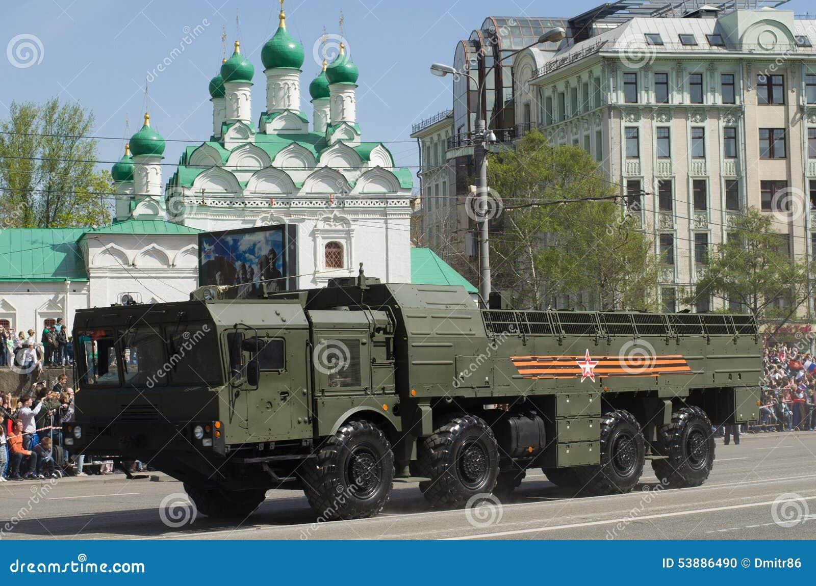 9K720 Iskander Is A Mobile Sho...