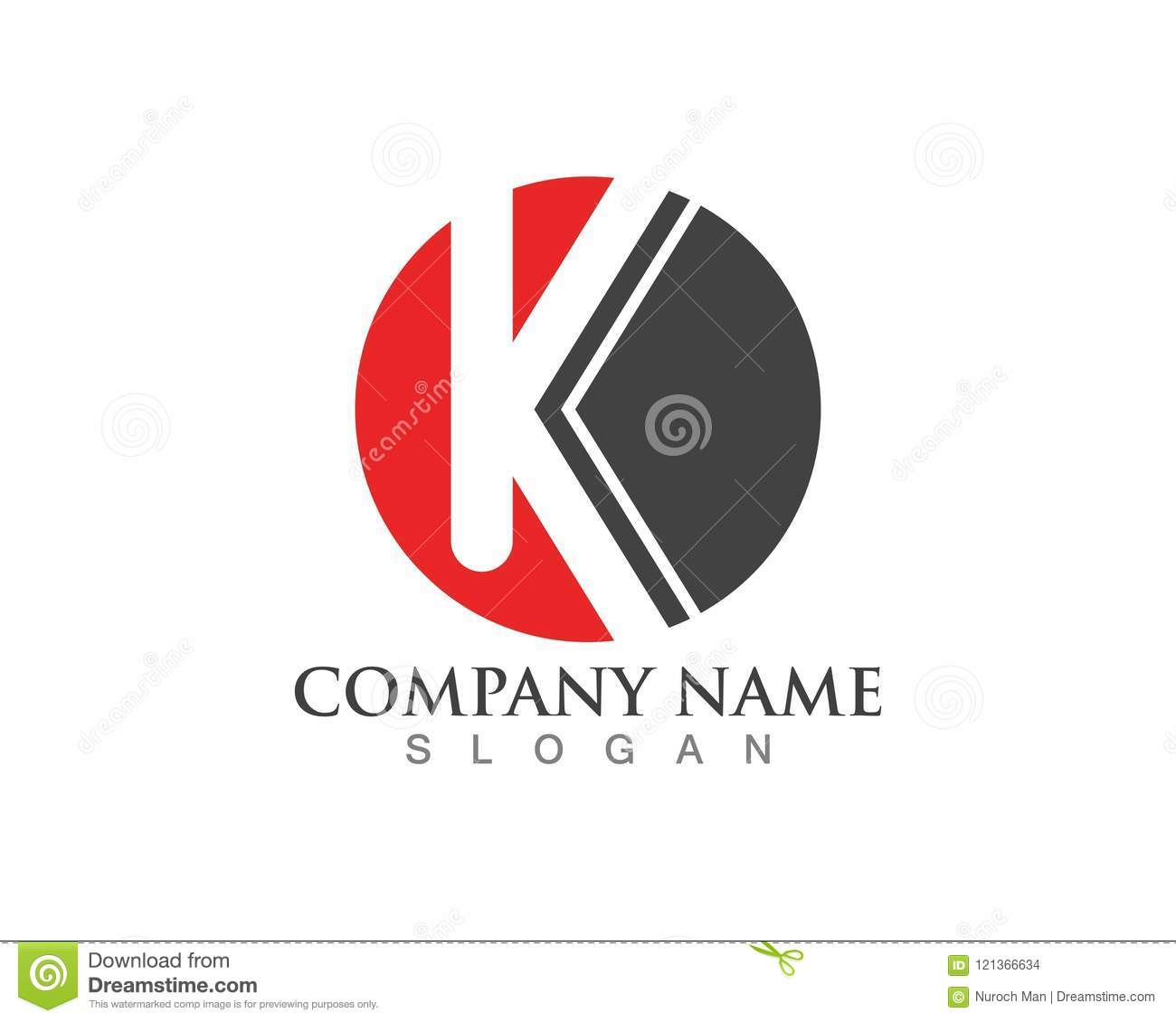 K Letter logo vector icon
