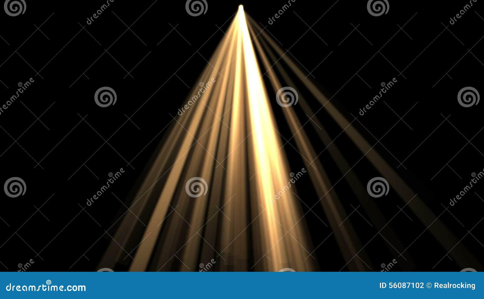 4k Ray Stage Lighting Backgroundradiation Laser Energytunnel Passage Line Stock Footage