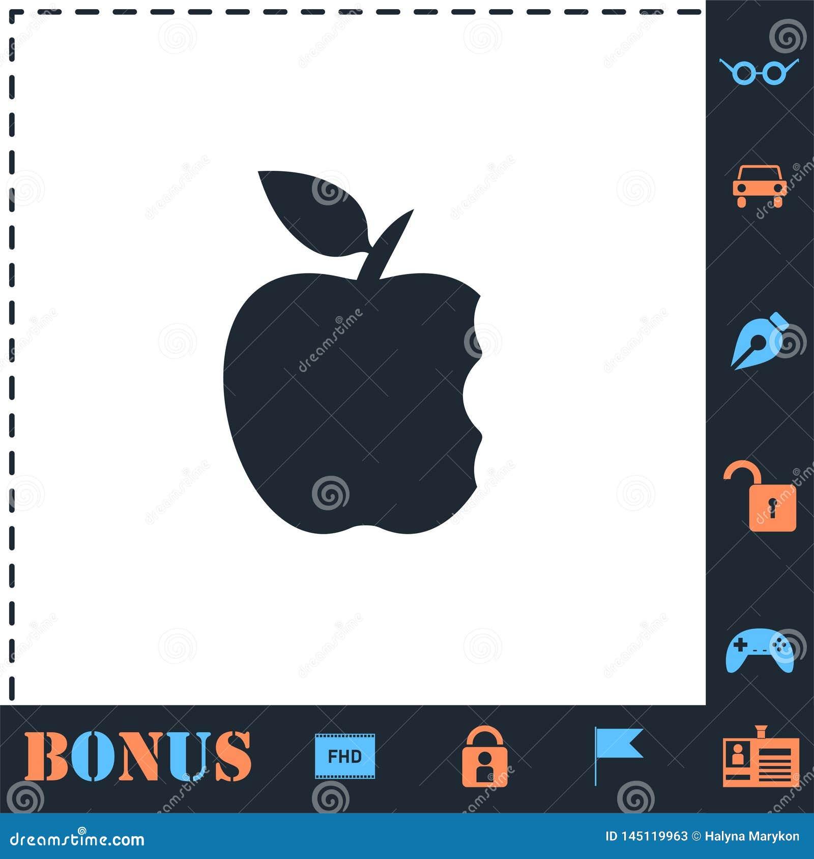 K?sek ikony jab?czany mieszkanie
