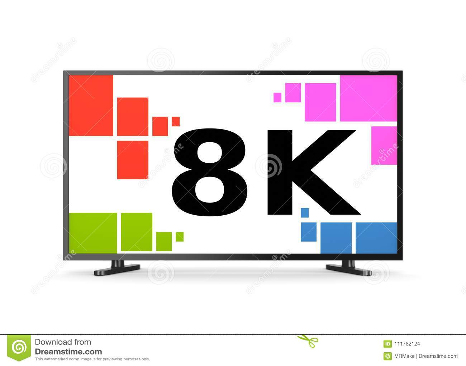 8K Televisietoestel