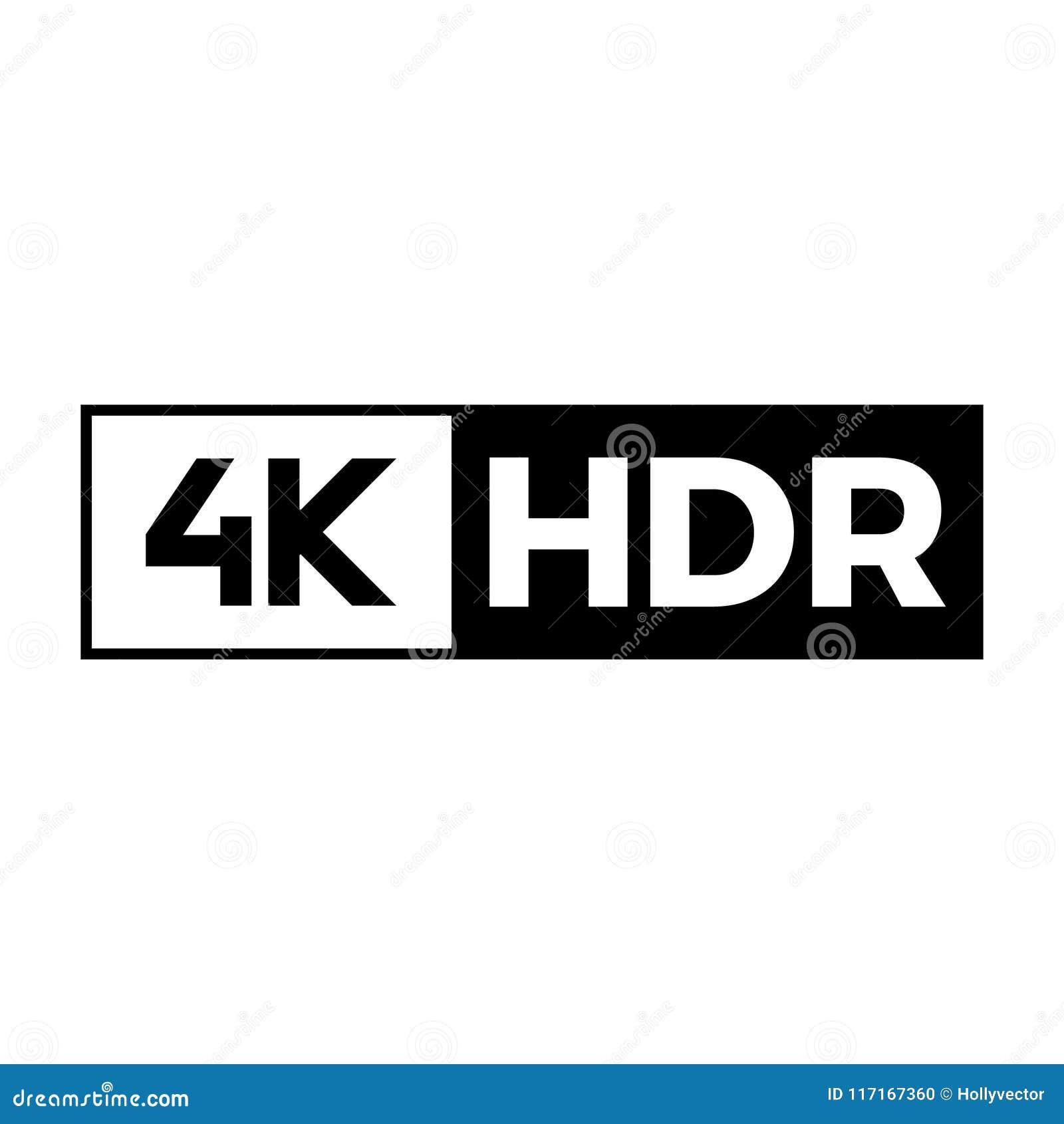 4k Ultra Hd Symbol