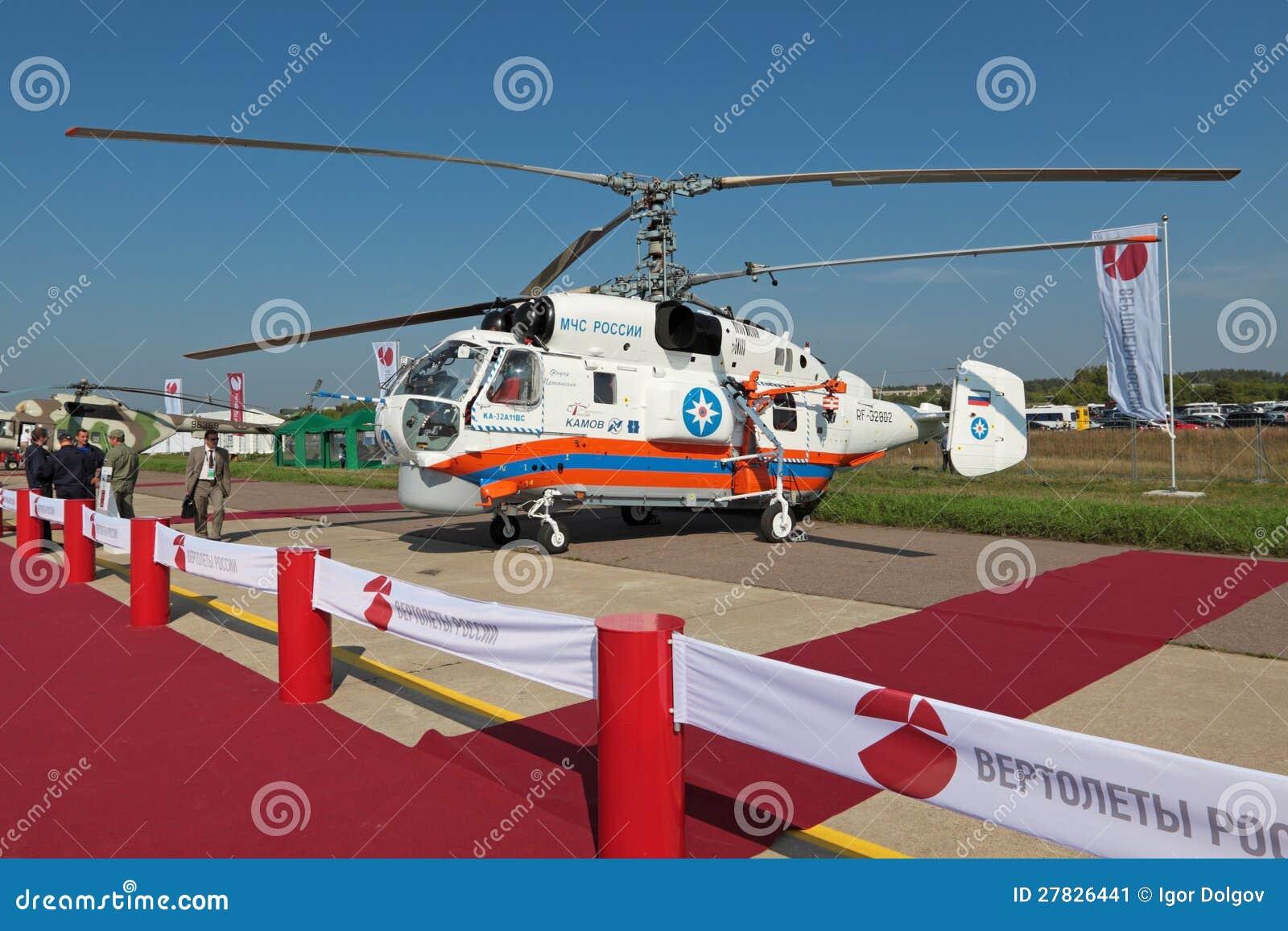 Elicottero Ka 32 : Ka helicopter editorial photo image