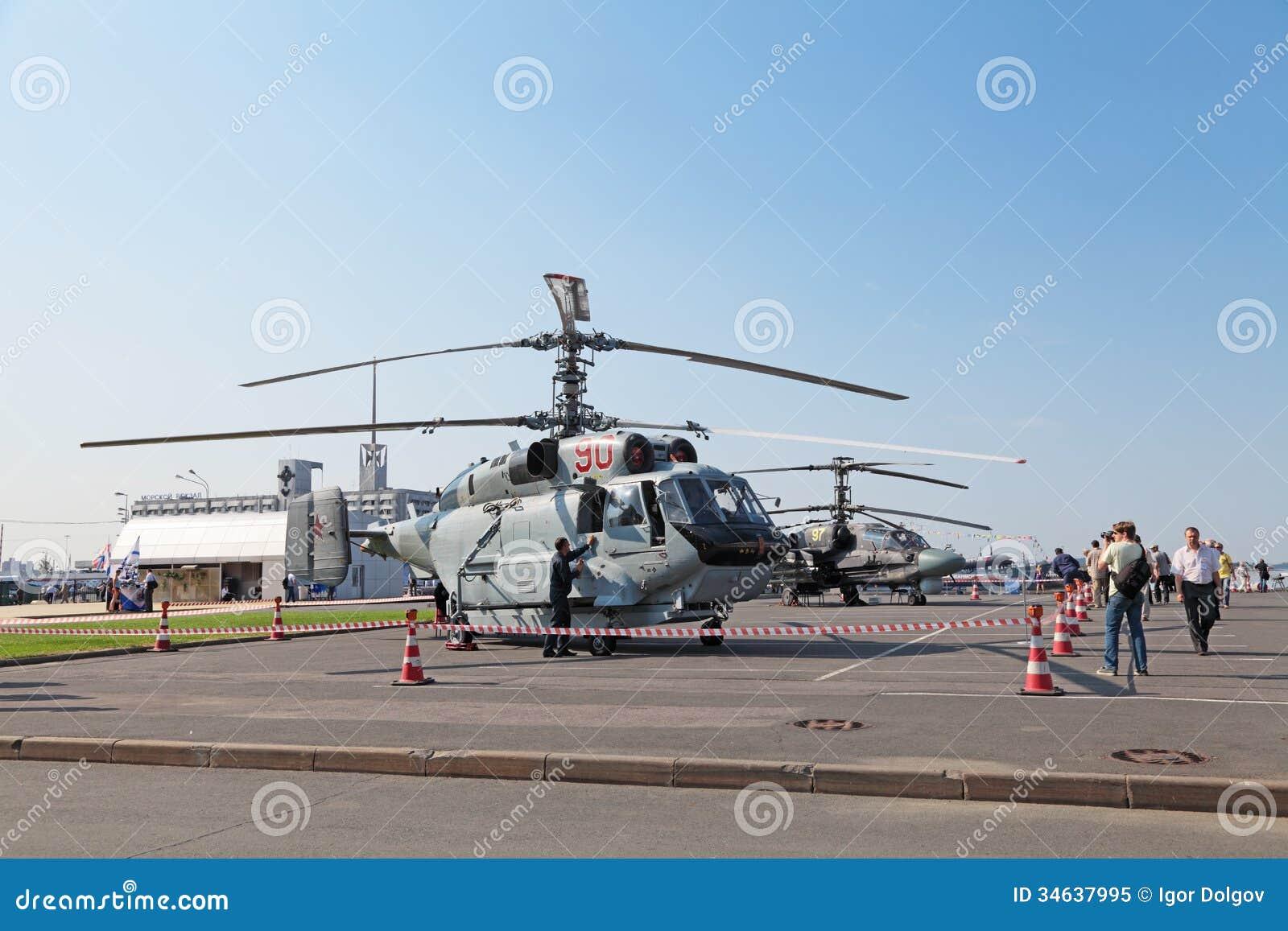 Ka 31 helicopter editorial image image 34637995 - Ka international ...