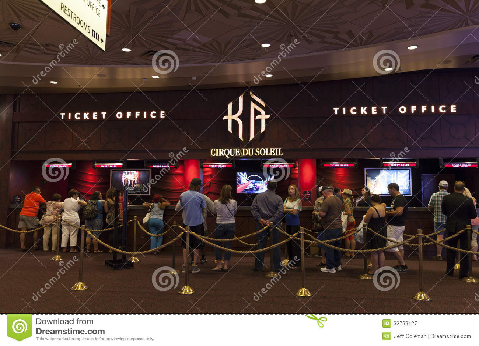 KA Kasse in Las Vegas, Nanovolt am 6. August 2013