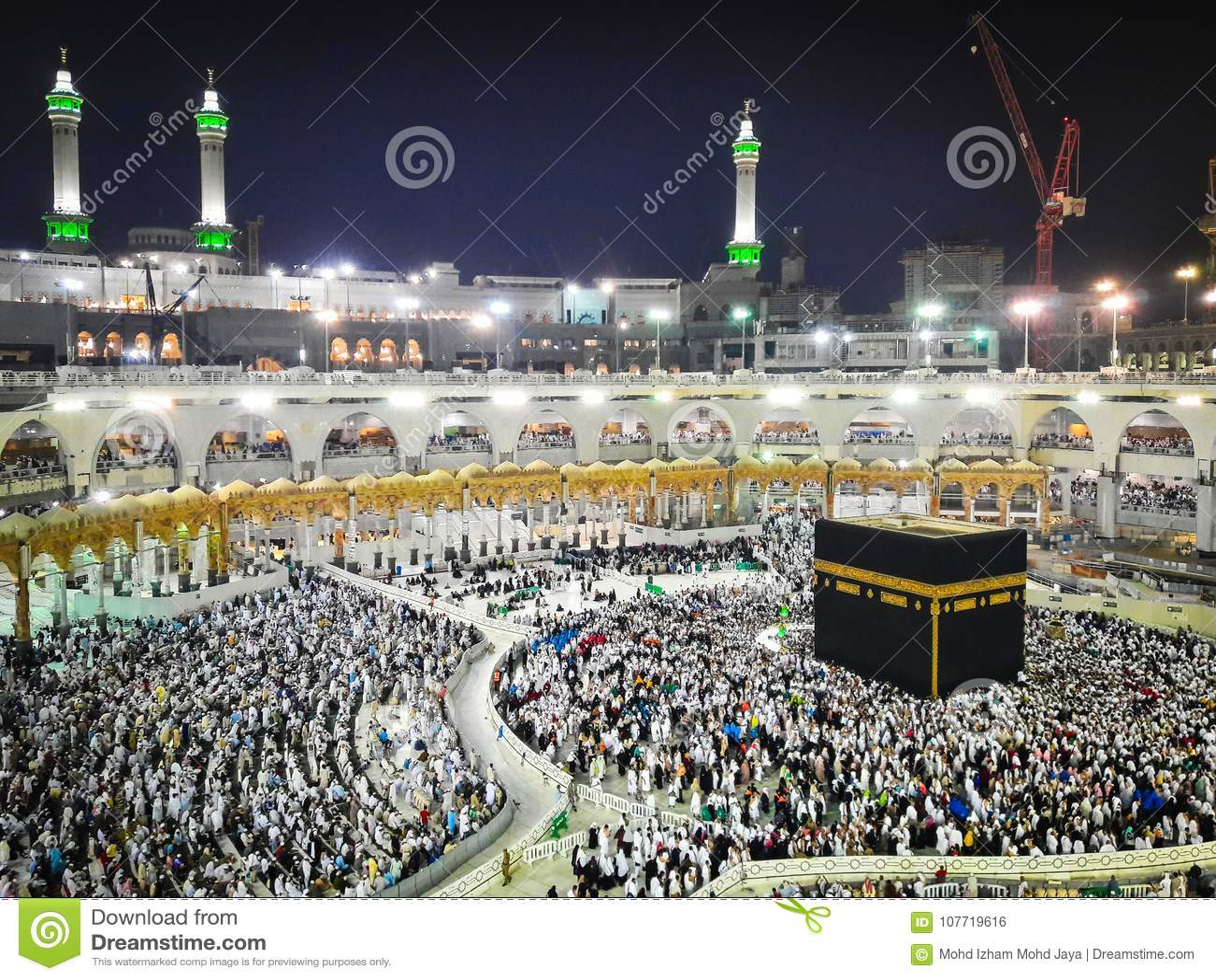 Kaaba i Makkah, Saudiarabien