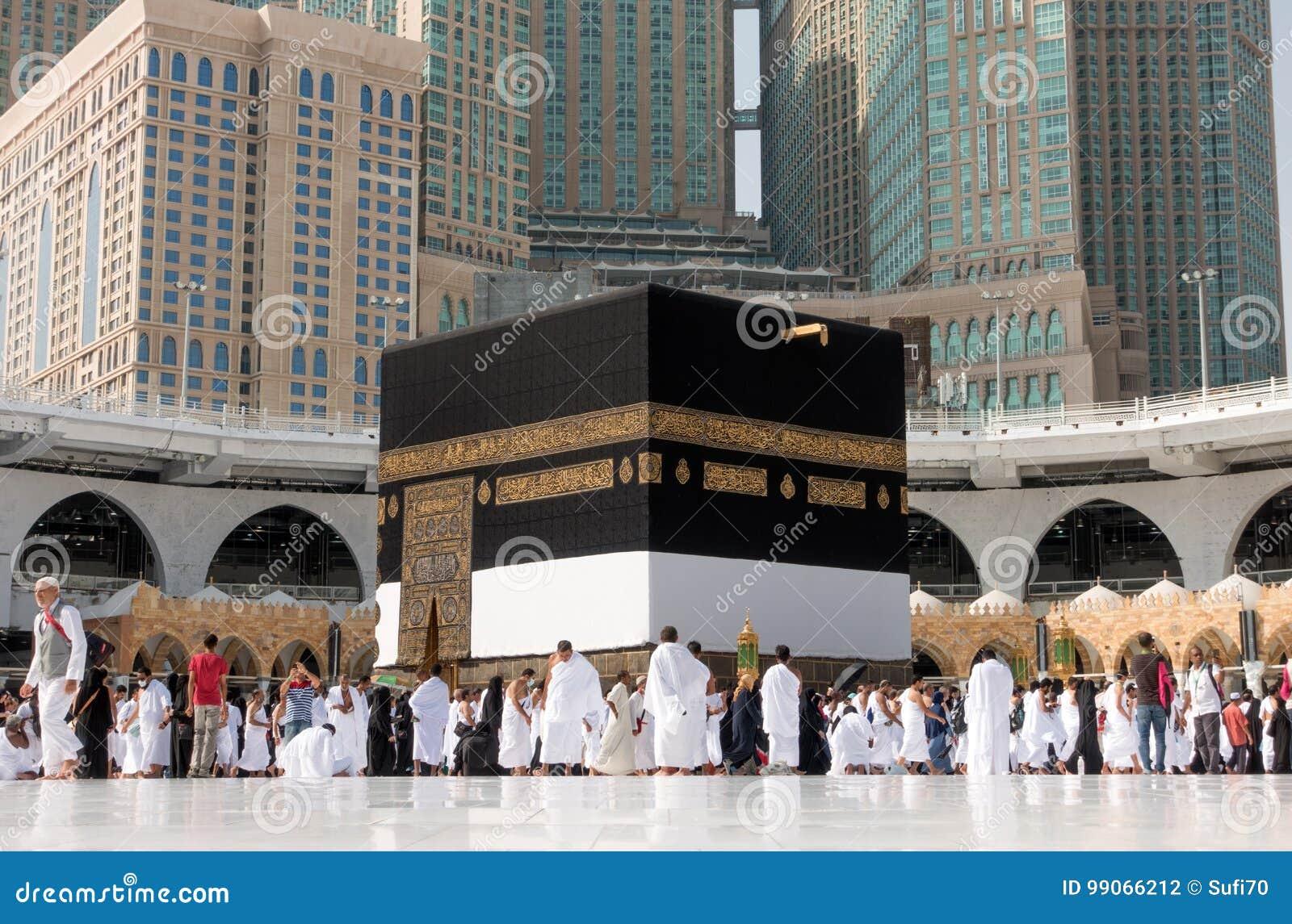Kaaba in la mecca in editoriale dell 39 arabia saudita for La capitale dell arabia saudita