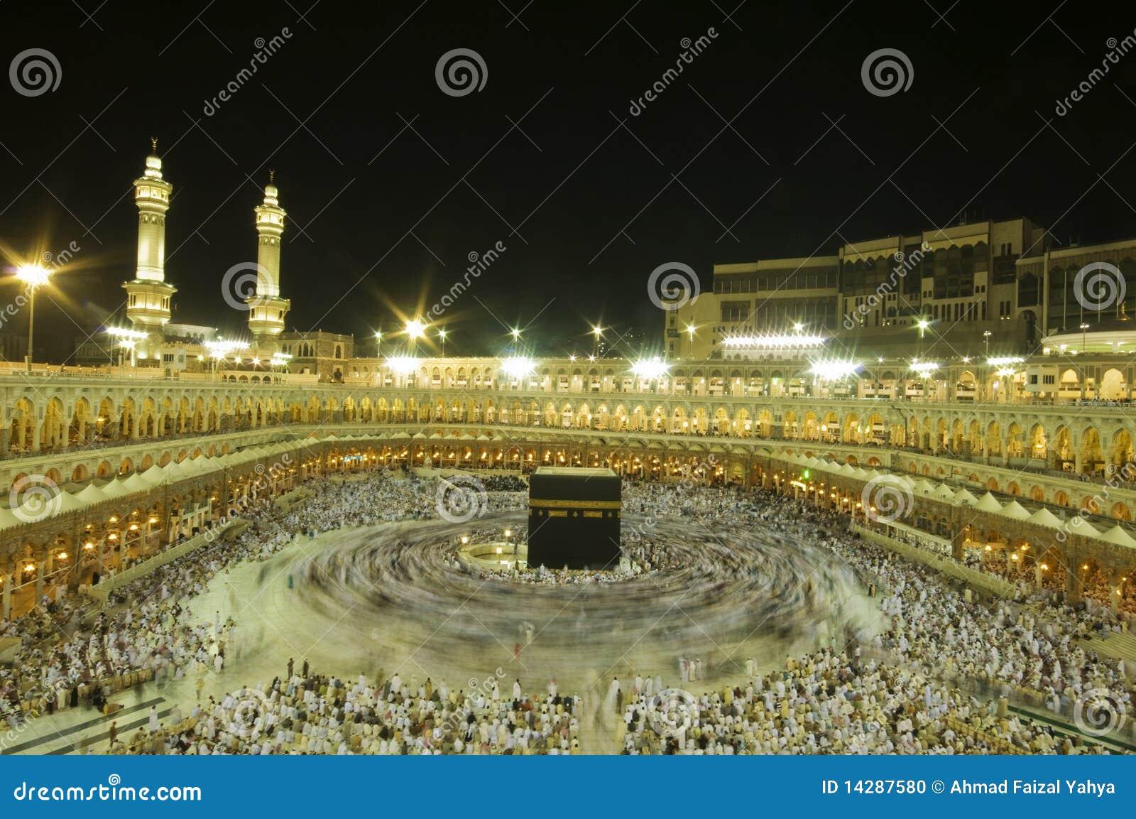 Kaaba in Makkah, Königreich von Saudi-Arabien.
