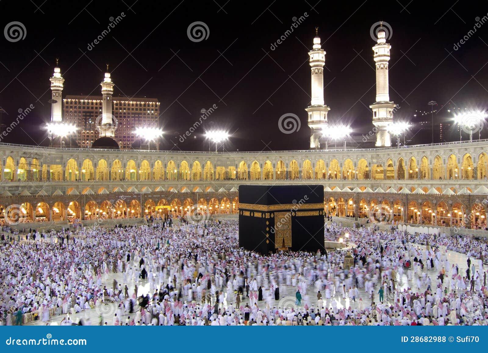 Kaaba In Mecca Stock Photo. Image Of Eastern, Saudi
