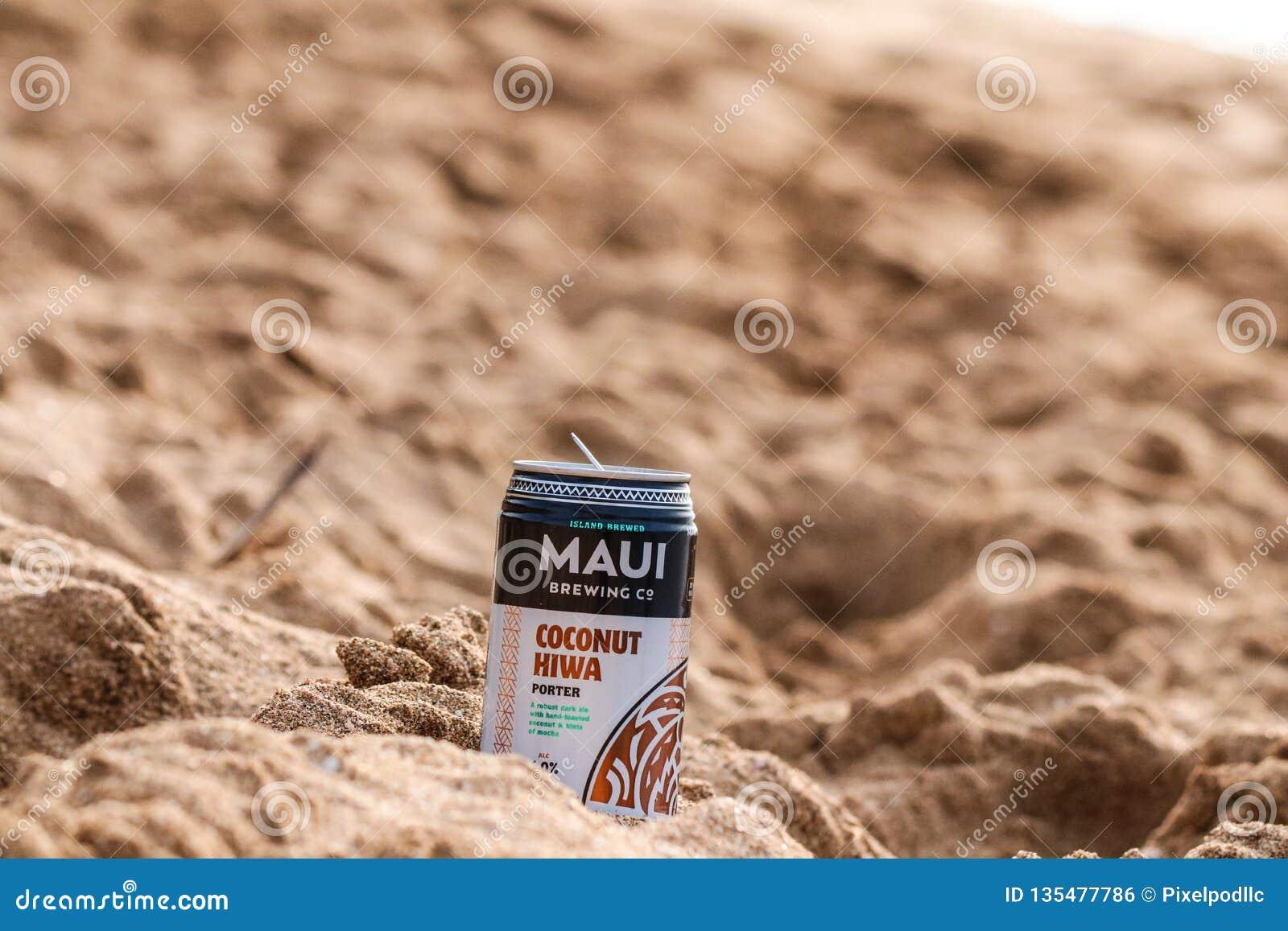 Kaanapali strand i Lahaina, Maui, Hawaii