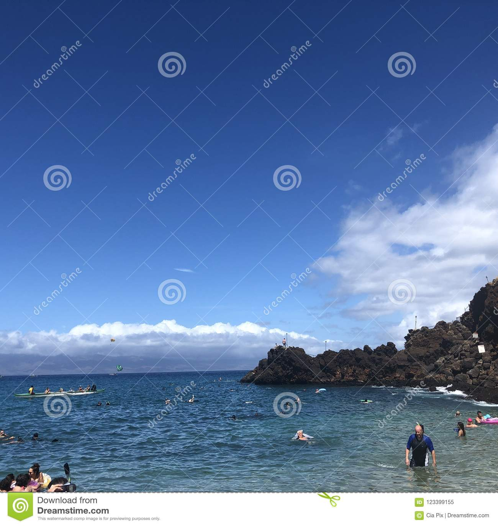 Kaanapalistrand in Maui