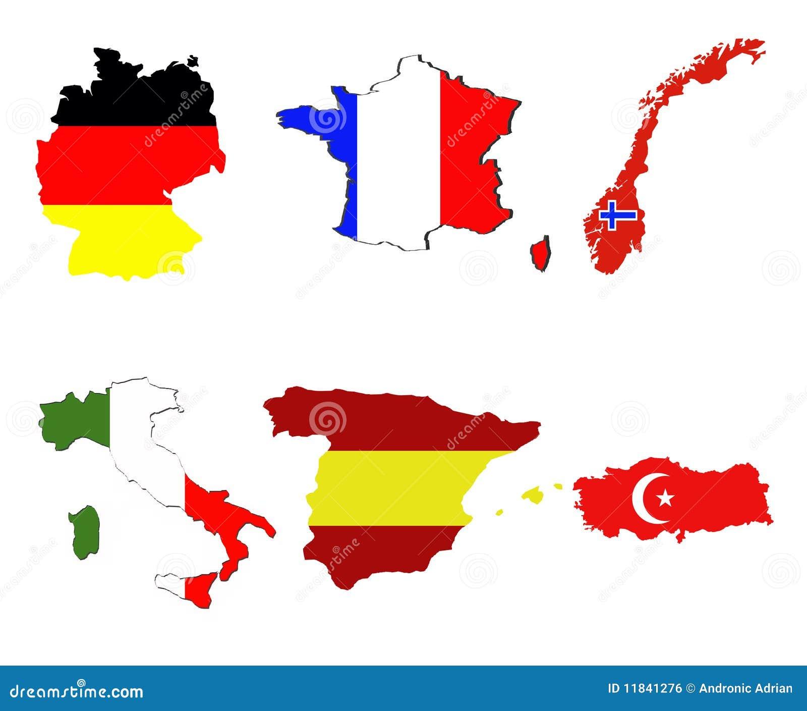 vlag spanje kleurplaat krijg duizenden kleurenfoto s