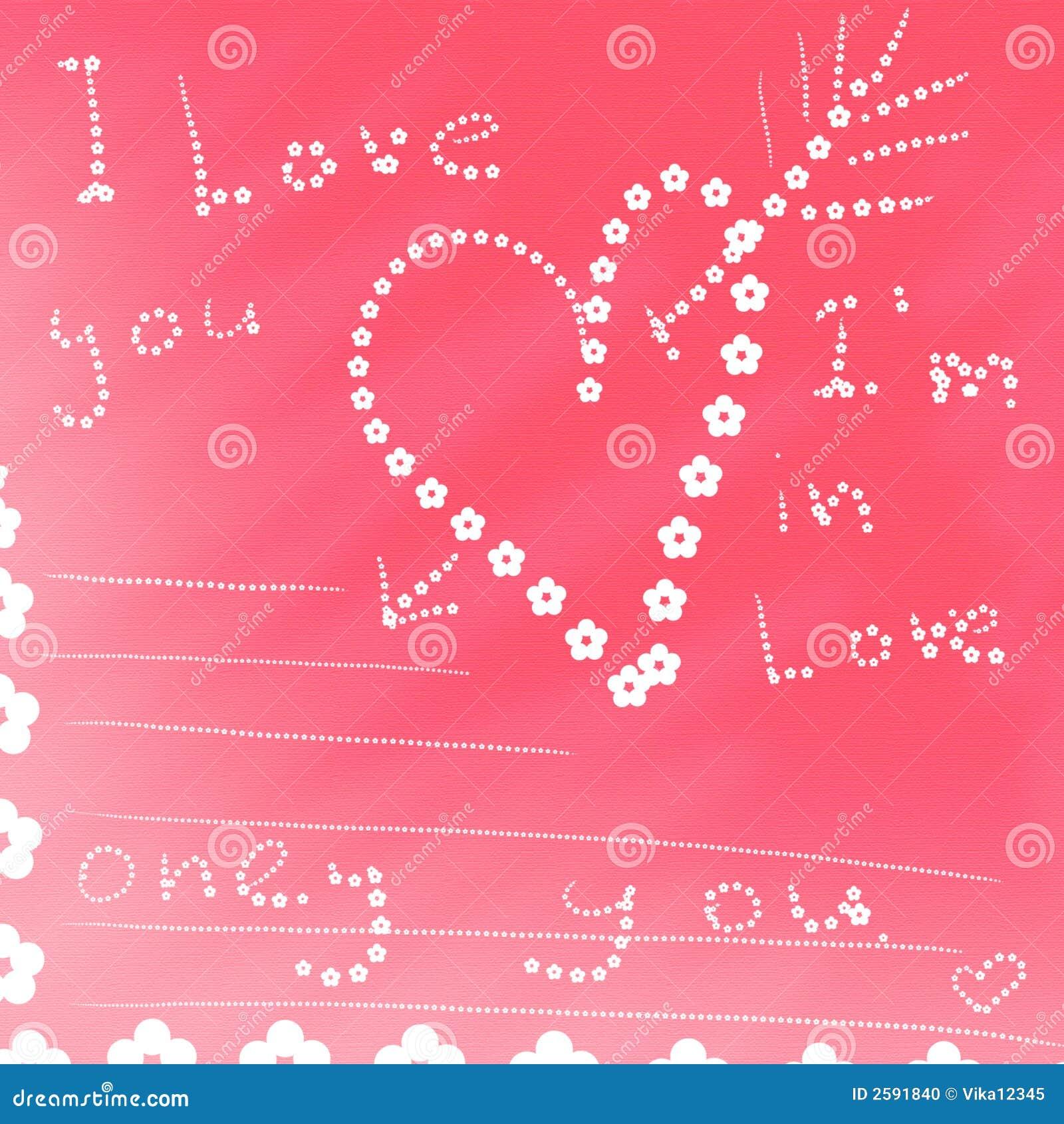 Kaart i houdt van u