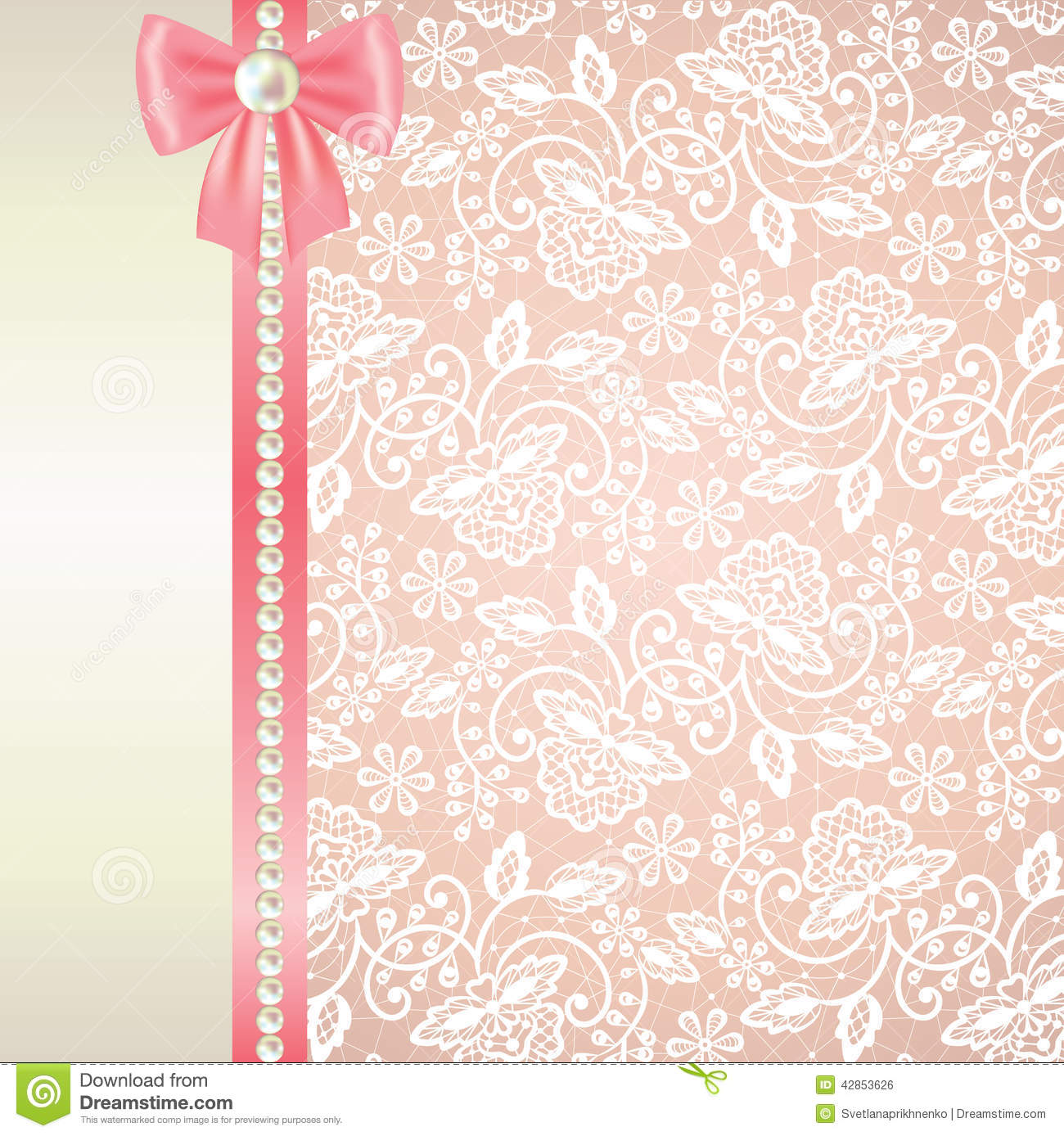Lace Wedding Invitation is awesome invitations layout