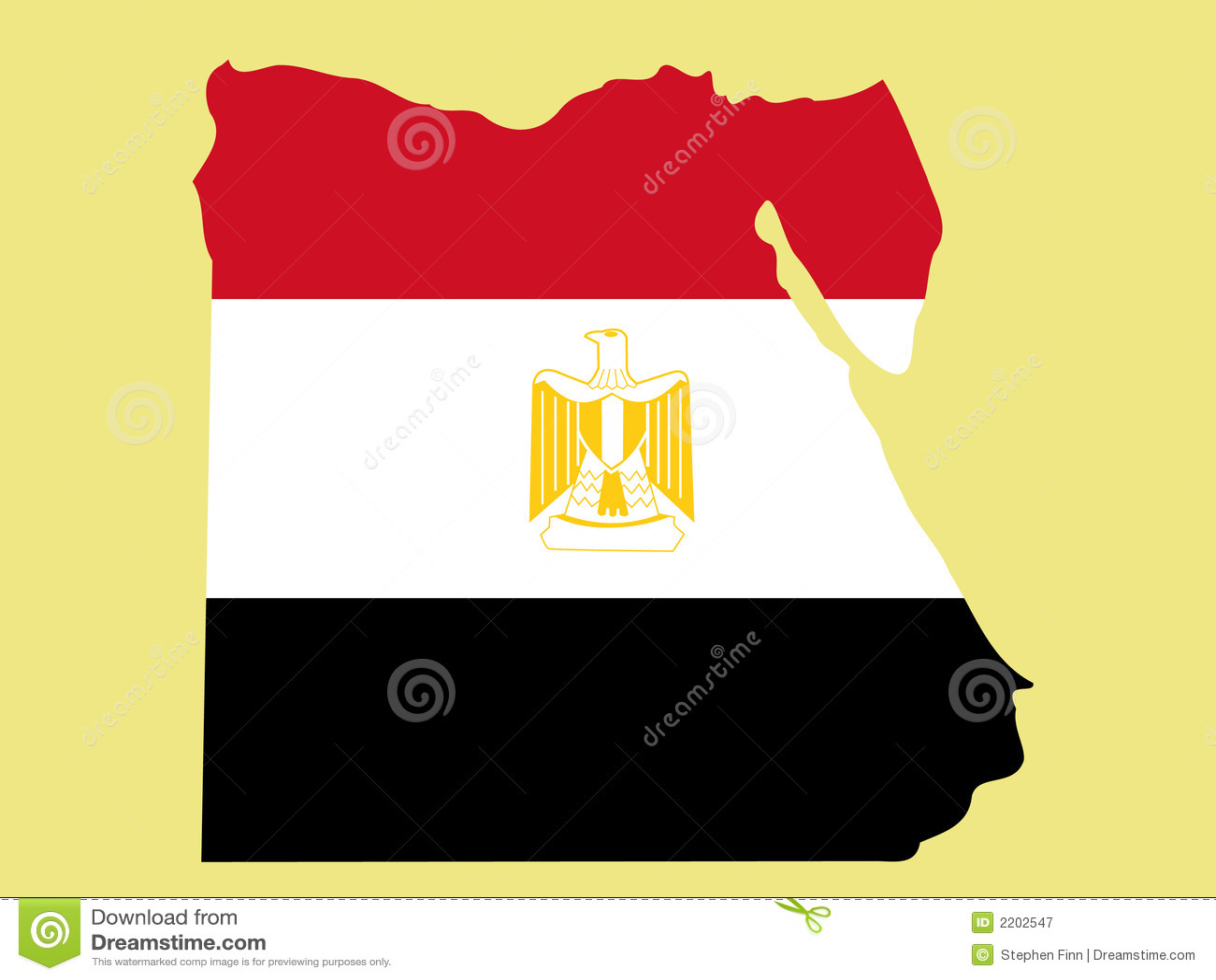 Kaart van Egypte