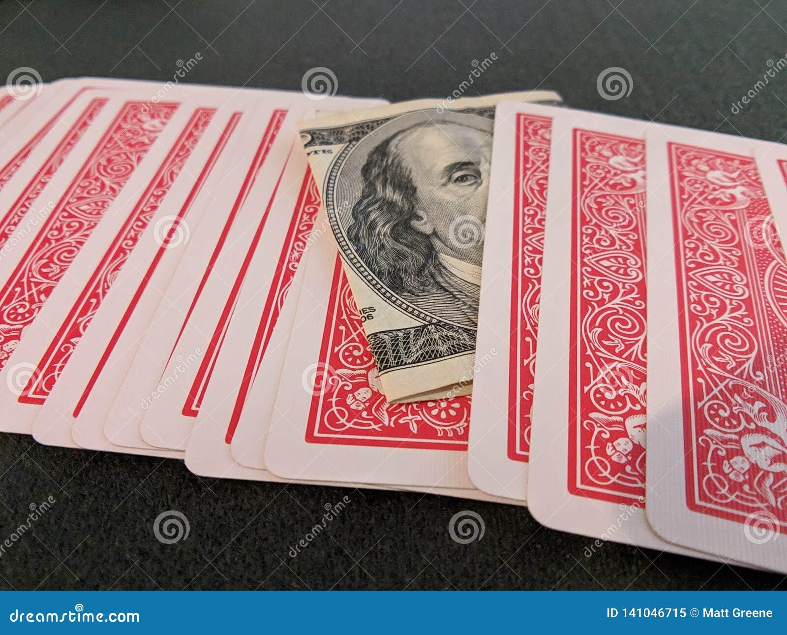 Kaarten, rekening $100