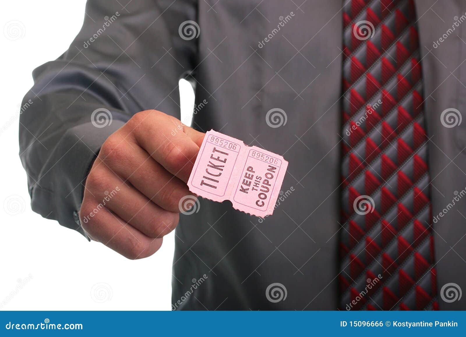 Kaartje met coupon