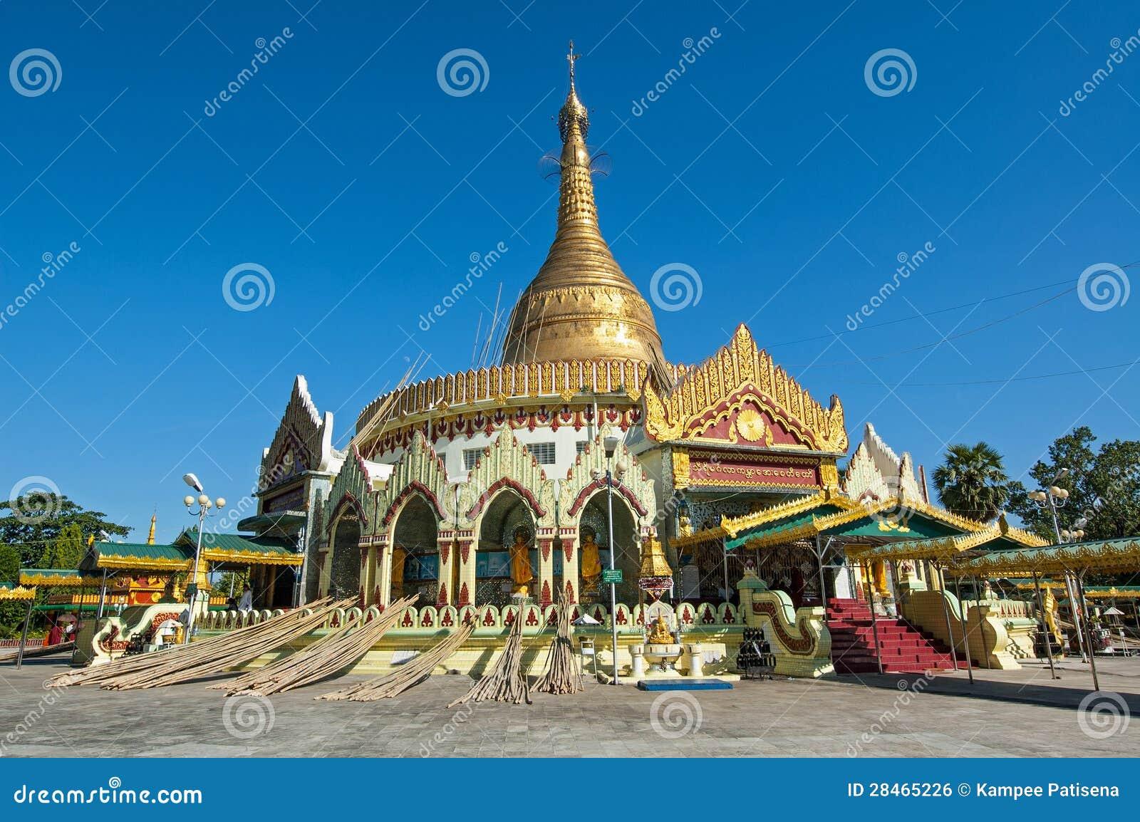 Download Kaba Aye Pagoda In Rangoon, Myanmar Stock Photo - Image of majestic, myanmar: 28465226