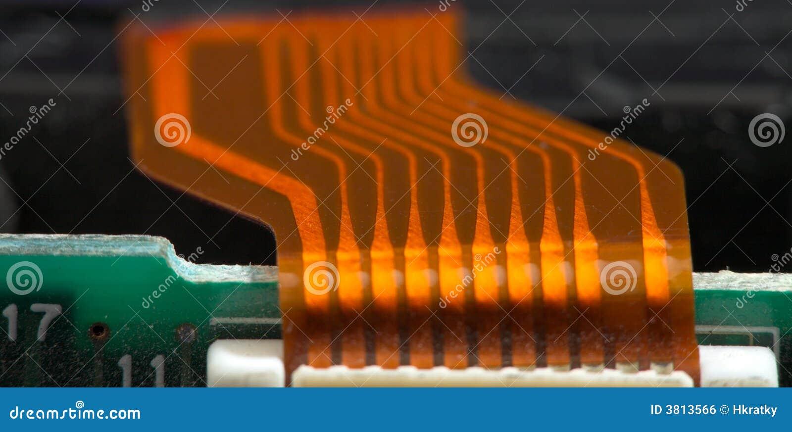 Kabel łącznik elektronika