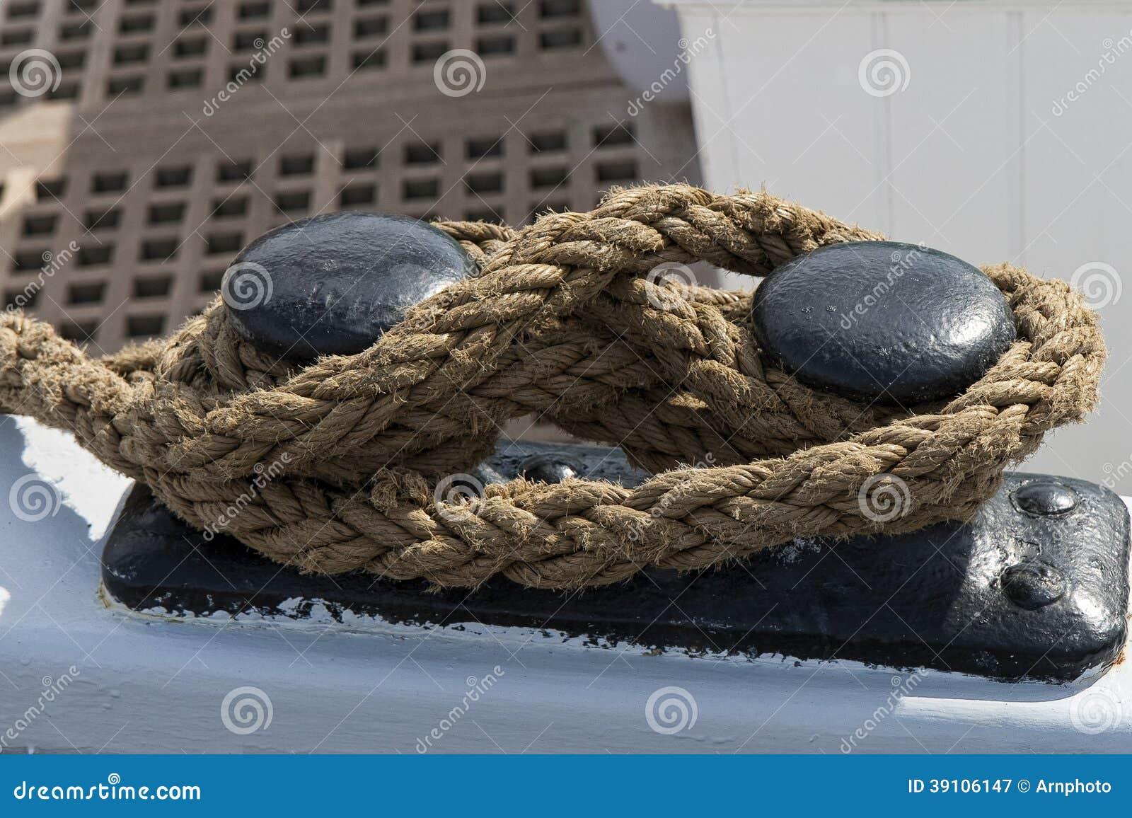 Kabel op Meertros Bitt