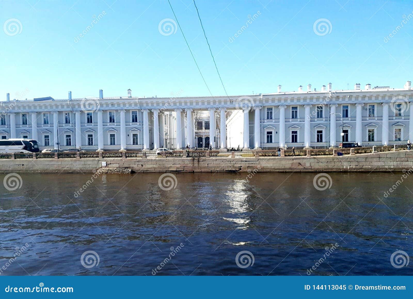 Kabinettet av hans imperialistiska majestät i solsken St Petersburg