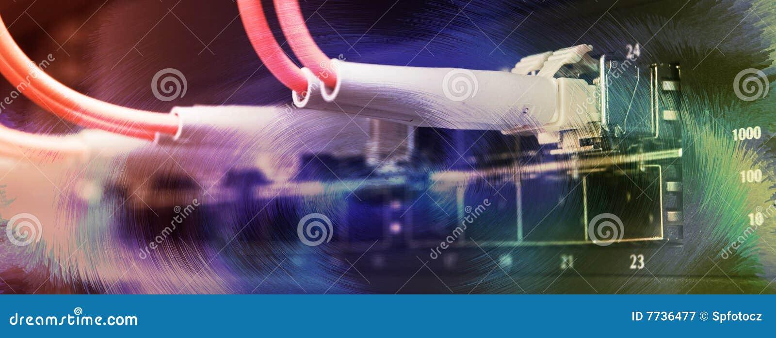 Kabli związana włókna światłowodowego zmiana