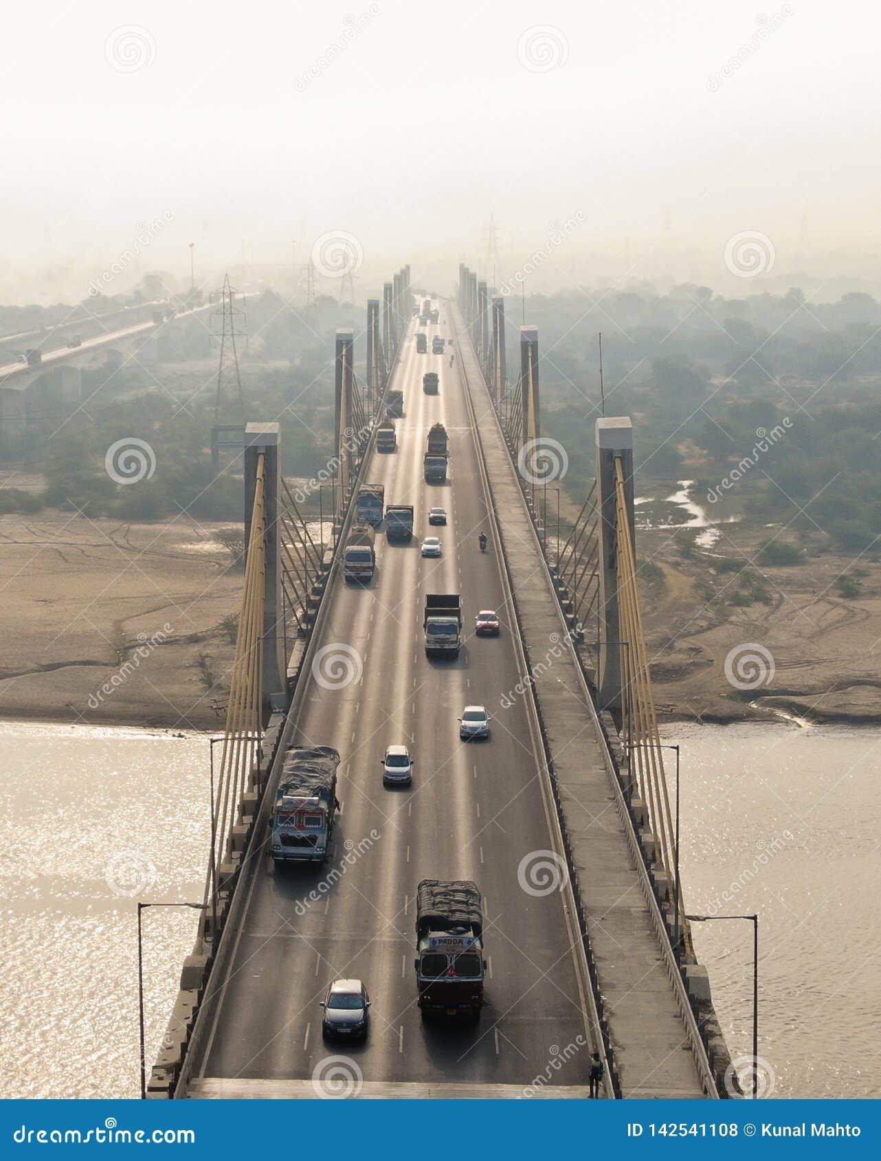 Kablowy most Bharuch