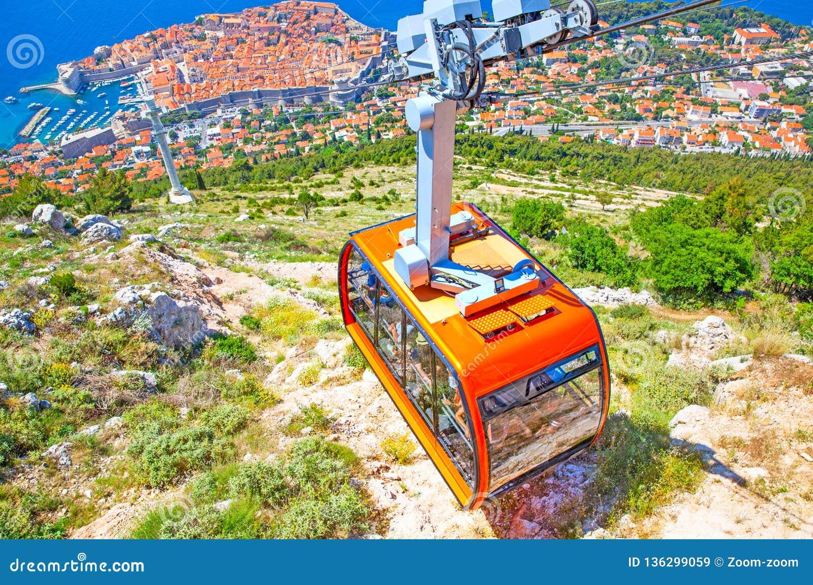 Kablowy sposób w Dubrovnik