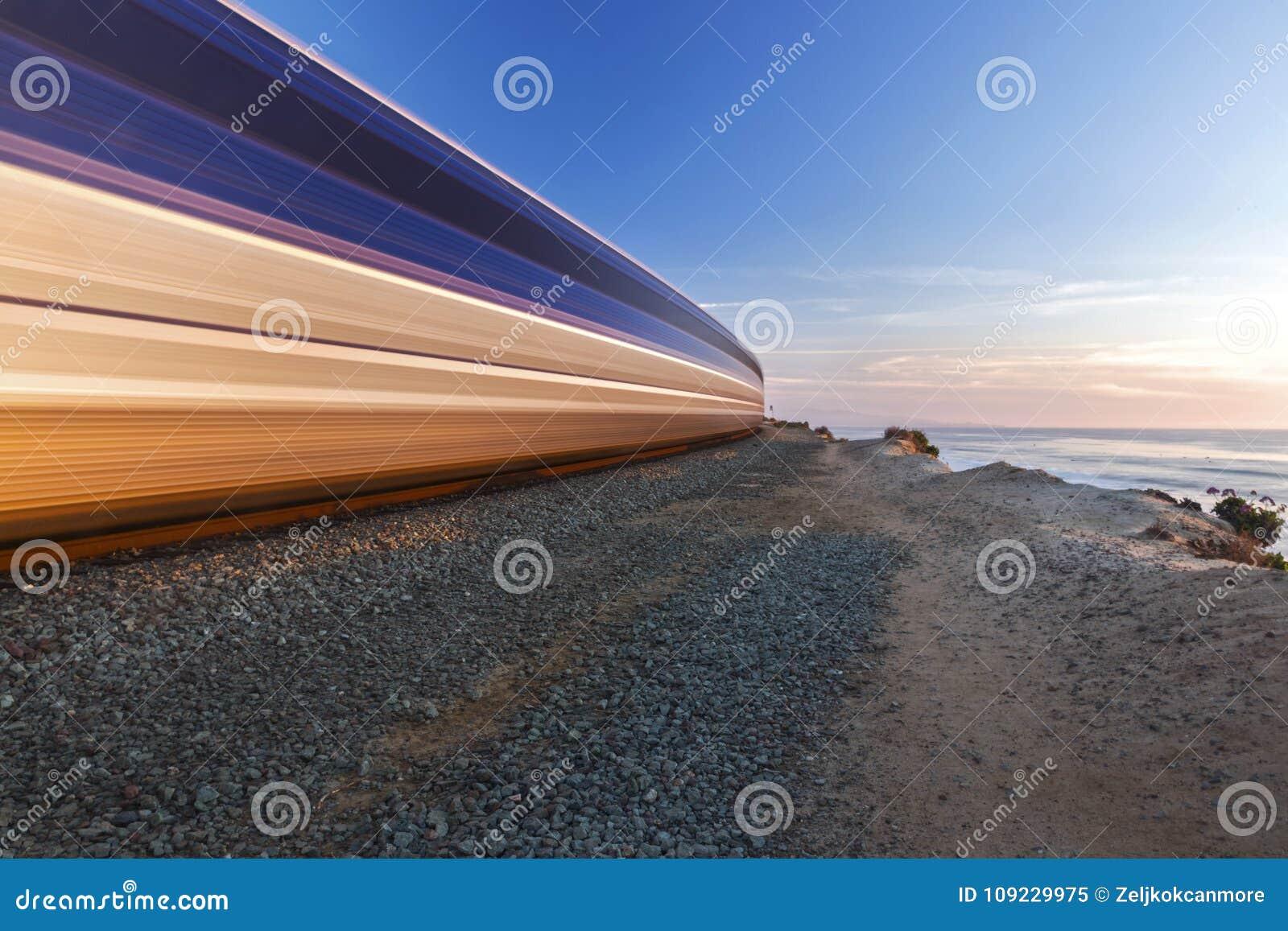 Kabotażowiec kolejki Wysokości Przyśpieszający Del Mącący Sunący San Diego okręg administracyjny