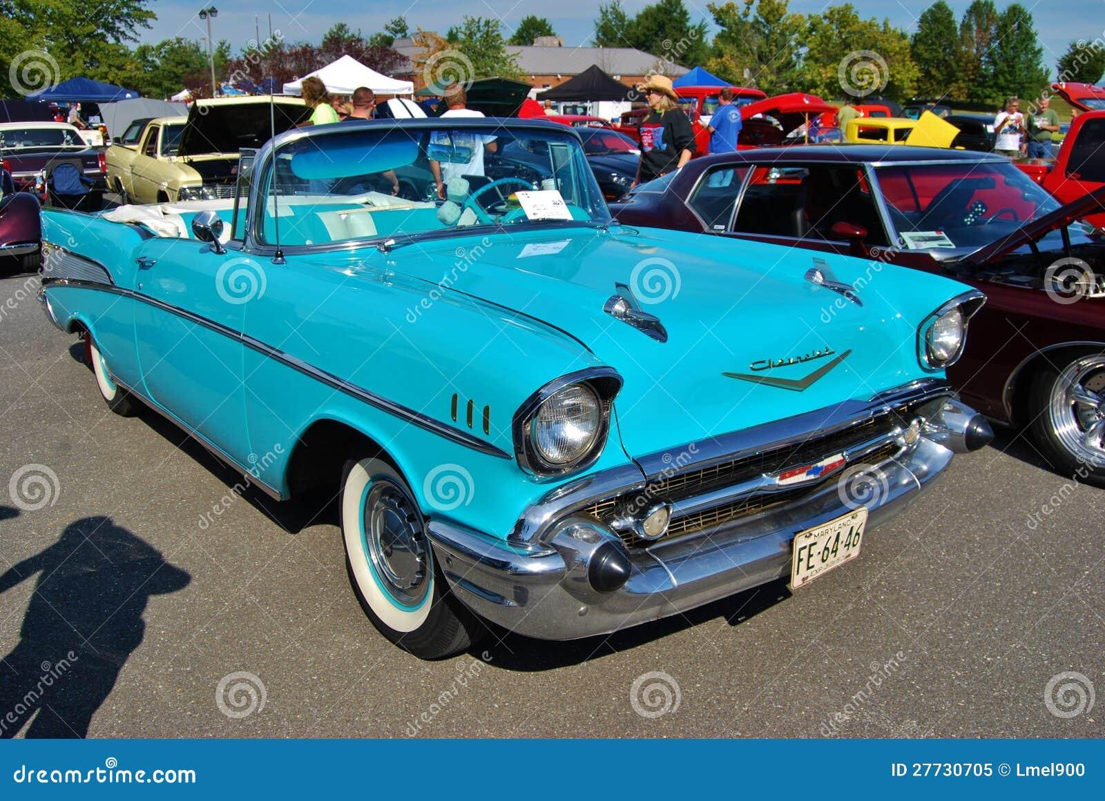 Kabriolett 1957 Chevrolet-Bel Air