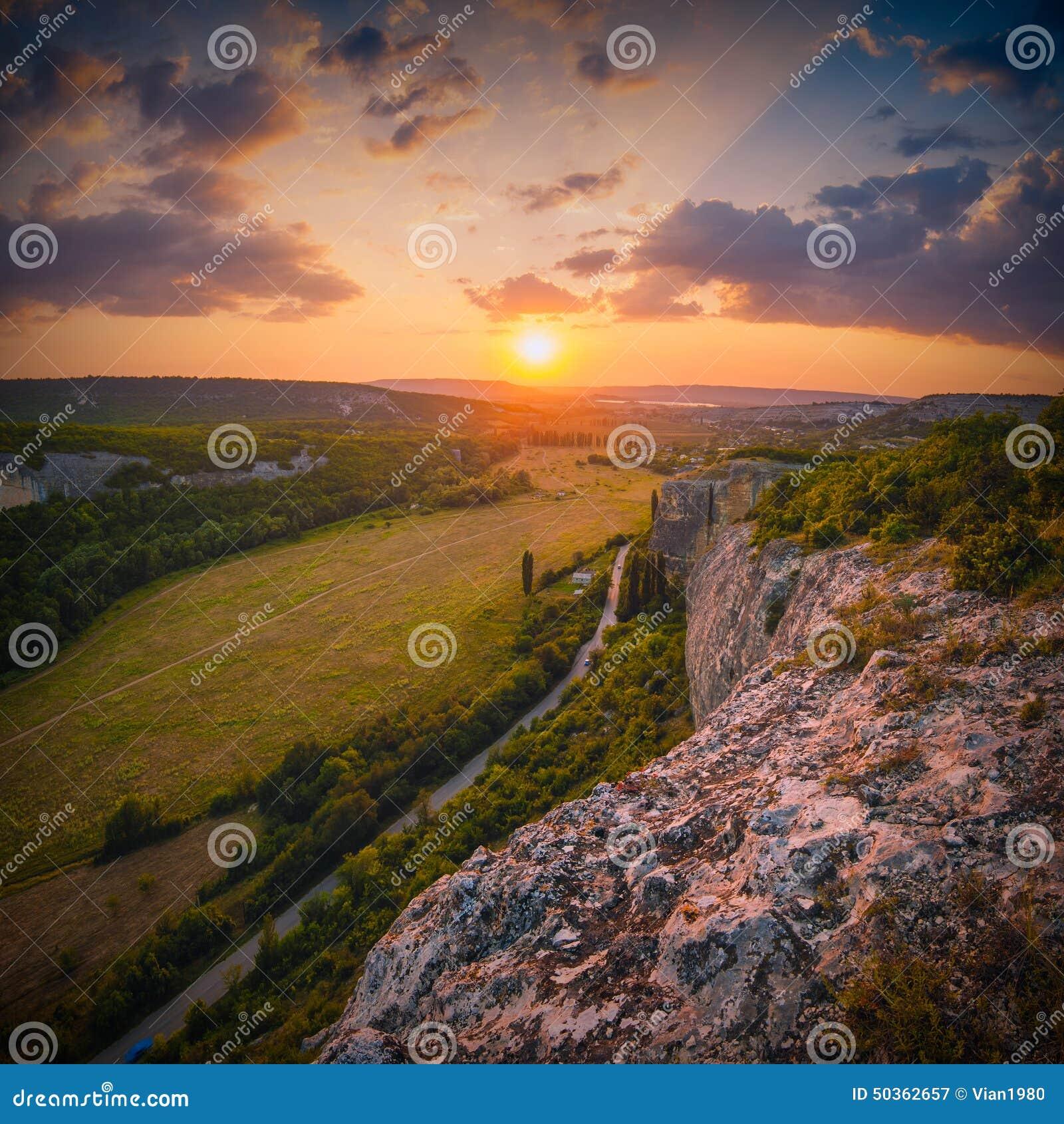 Kachi-Kalion sunset