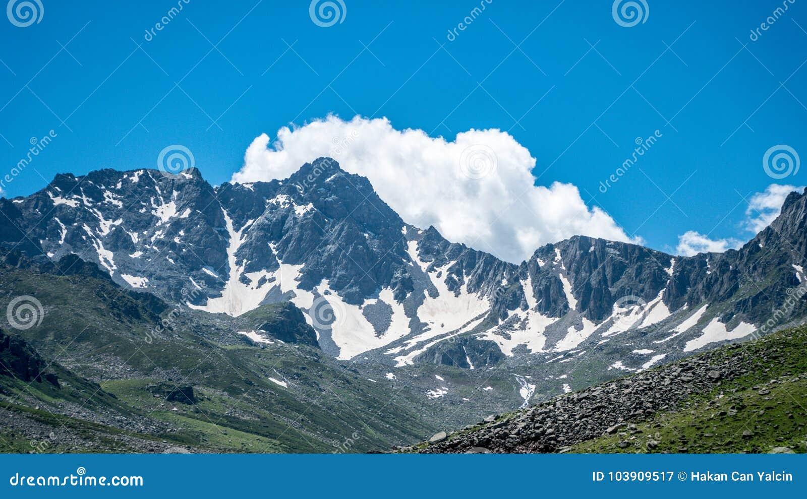 Kackar山在黑海Karadeniz地区,土耳其