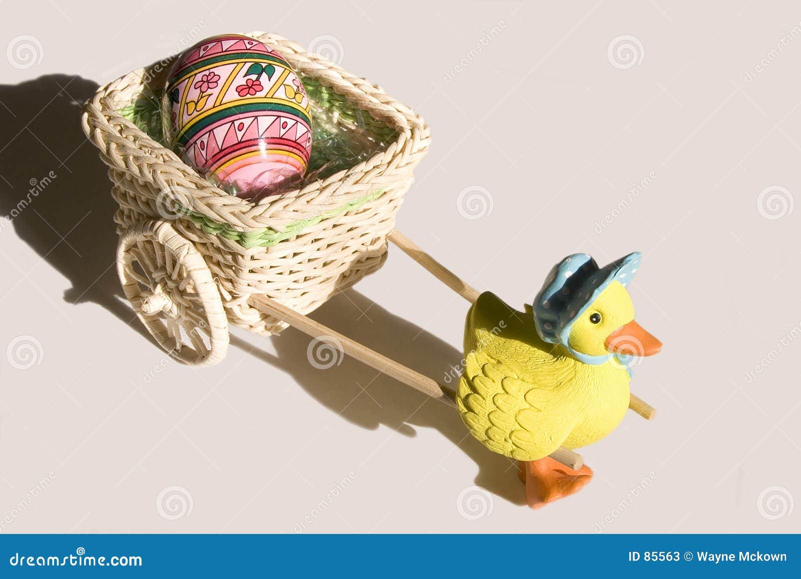 Kaczki wózków Wielkanoc jajko