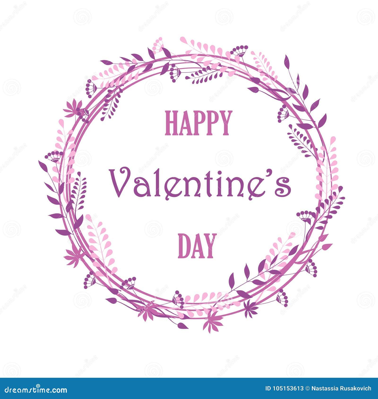 Kader van bloemen en installaties, mooie kaarten, huwelijksuitnodigingen, Valentin-dag, verjaardag, moeder` s dag