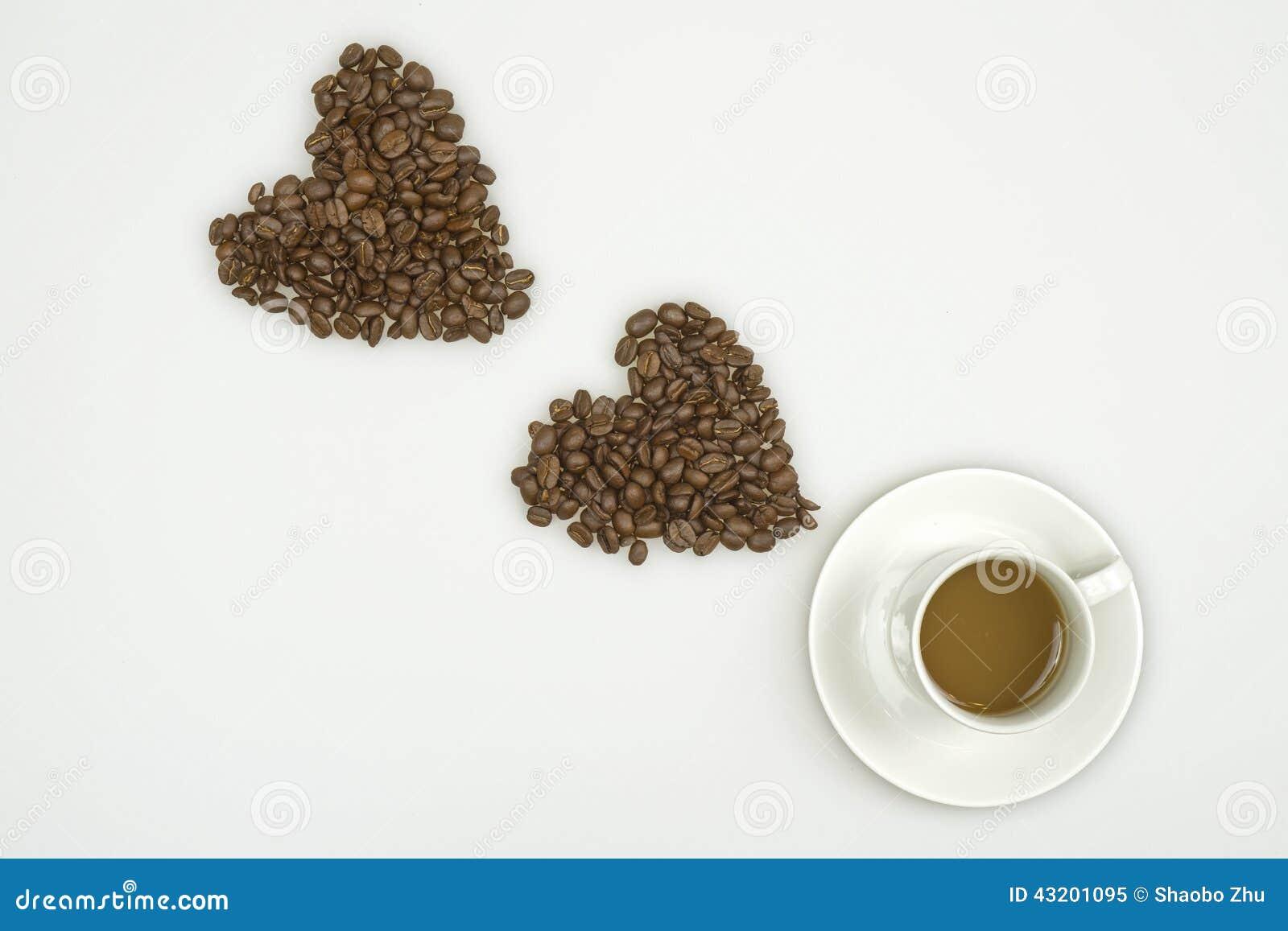 Download Kaffe som jag älskar fotografering för bildbyråer. Bild av closeup - 43201095
