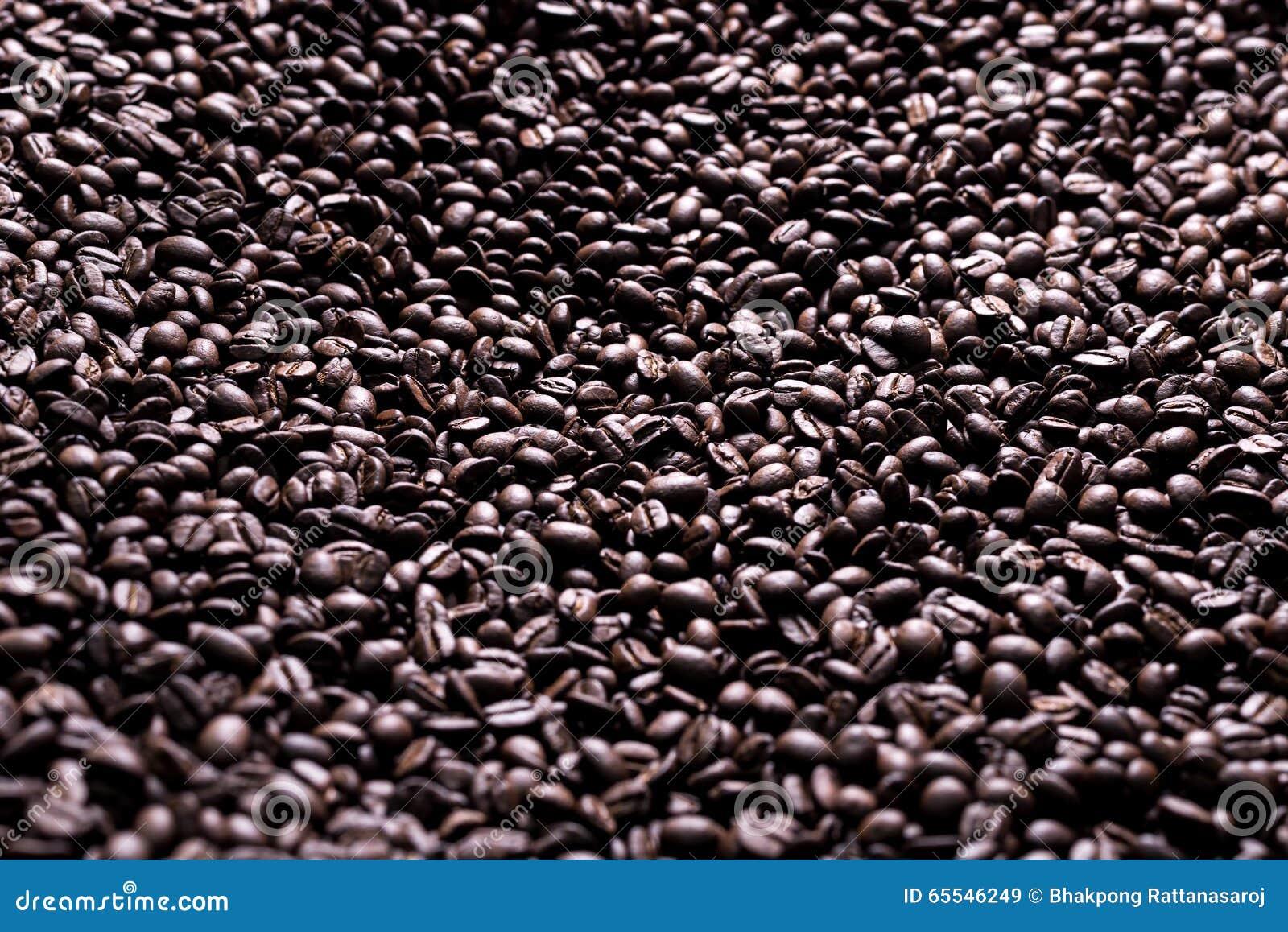 Kaffee-Reihe: Kaffeebohnehintergrund