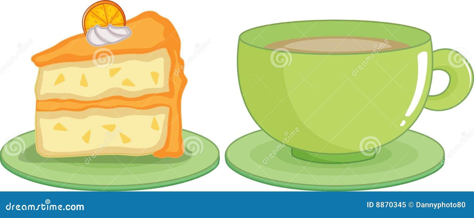 kaffee und kuchen lizenzfreies stockfoto bild 8870345. Black Bedroom Furniture Sets. Home Design Ideas