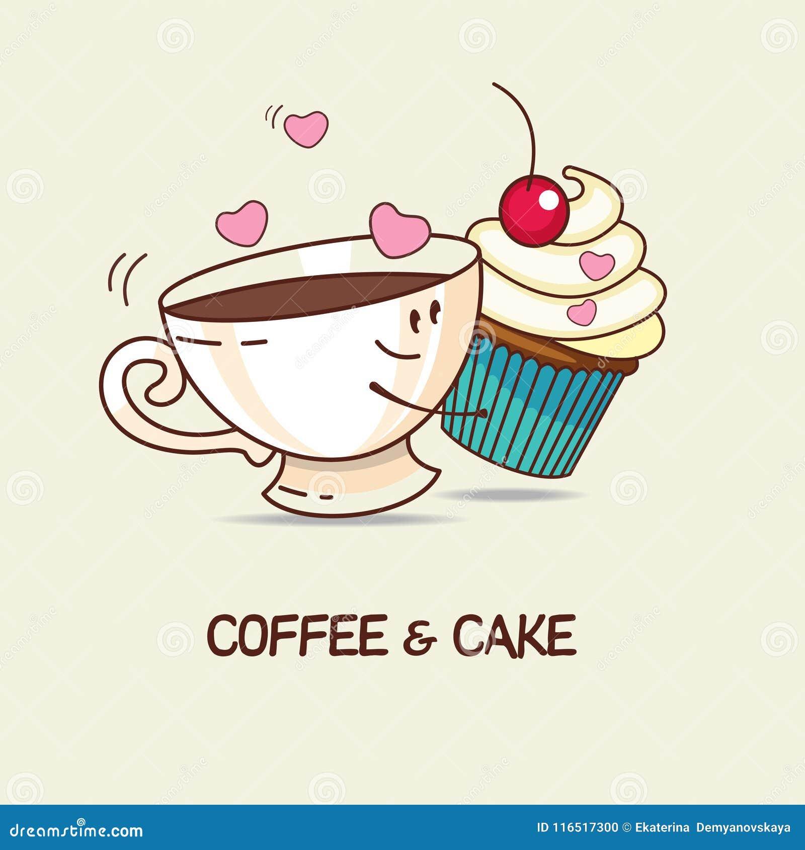 Kaffee Und Kuchen Liebe Fur Immer Kaffee Und Kuchenumarmung