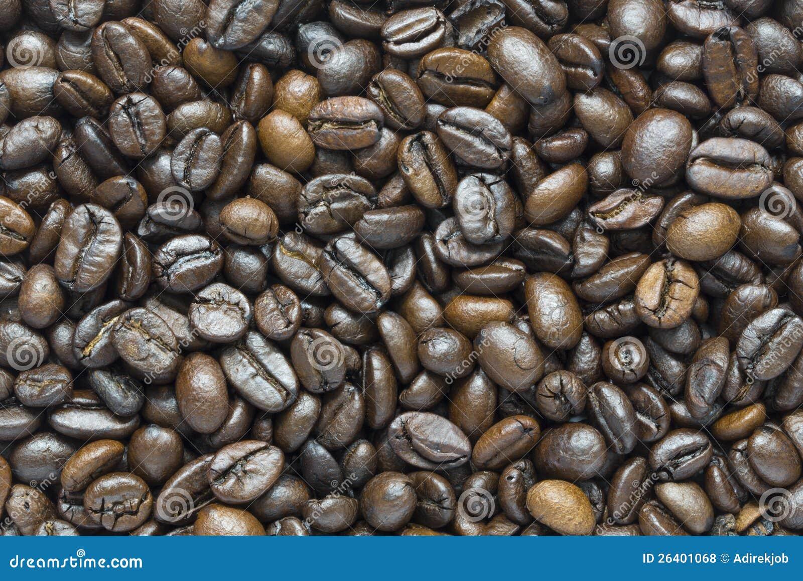 Kaffeebohnehintergrund