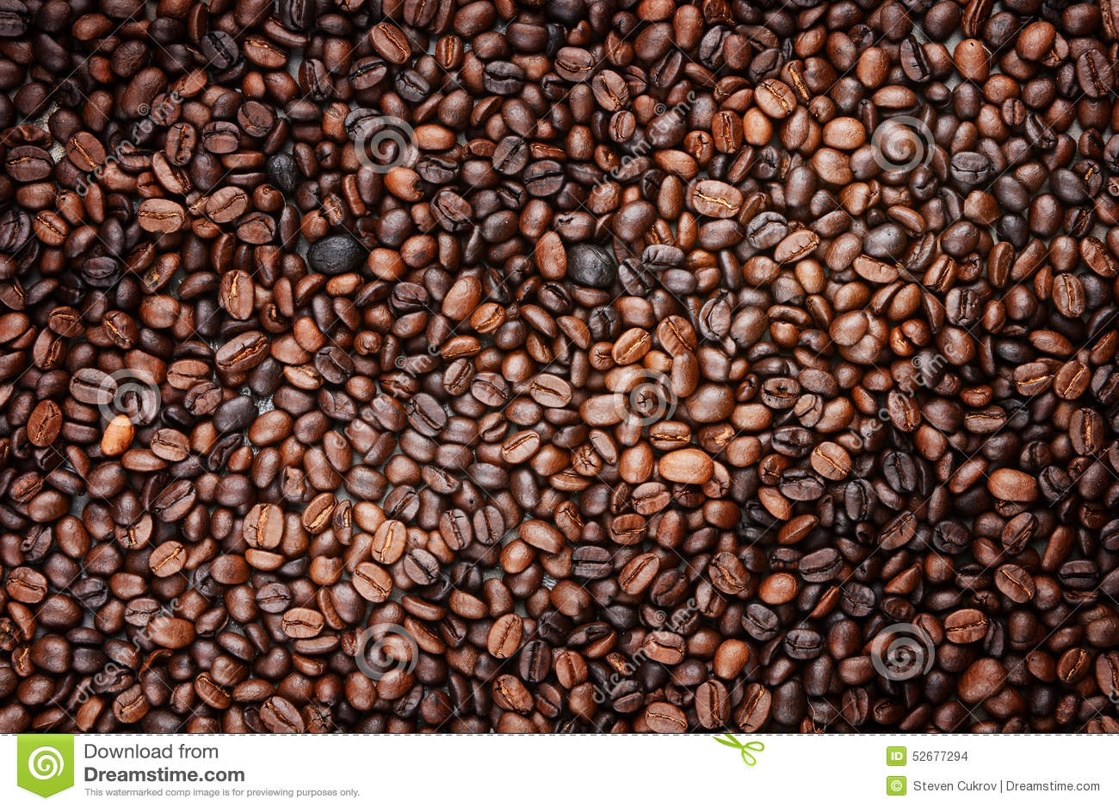 Kaffeebohnen, Die Rahmen Füllen Stockfoto - Bild von morgen, studio ...