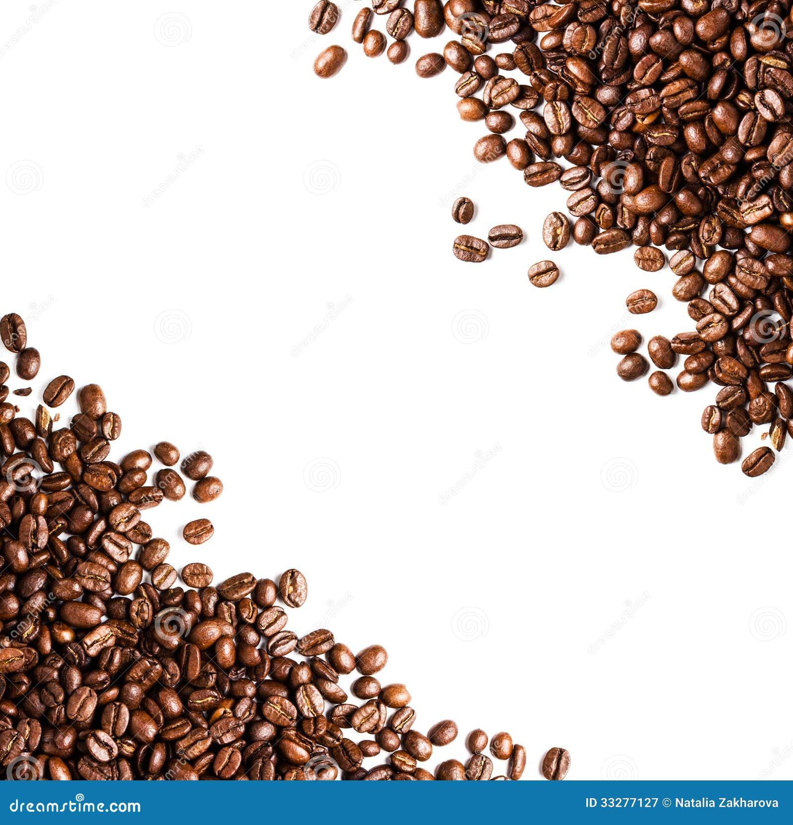 Kaffeebohnen Hintergrund Oder Beschaffenheitsnahaufnahme