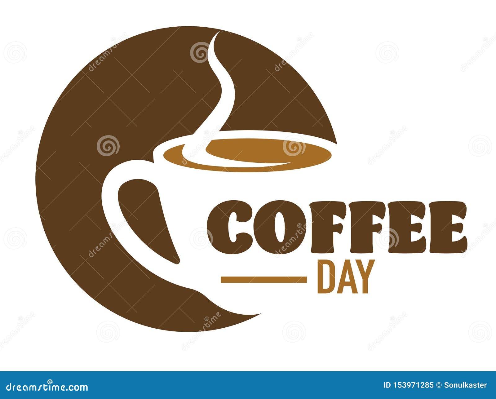Kaffeegetränkcafé oder Cafeteria lokalisiertes Ikonenenergiegetränk