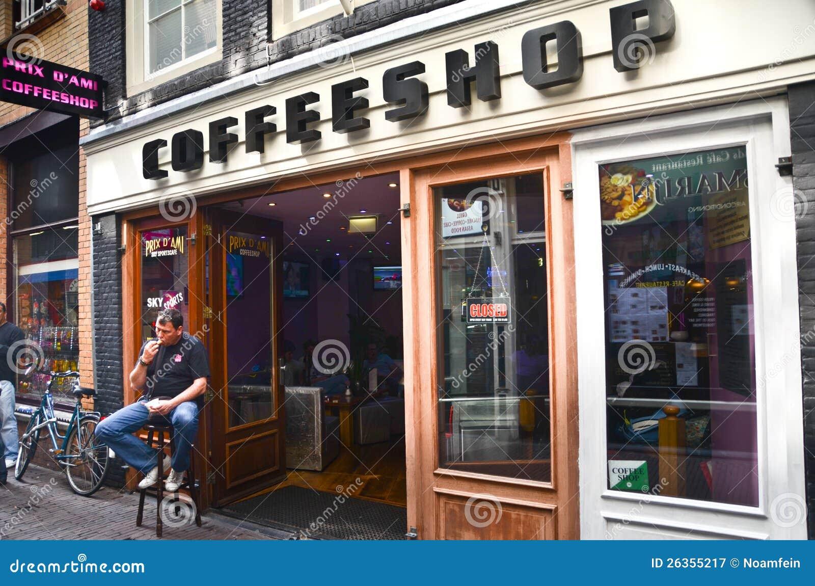 Kaffeestube in Amsterdam