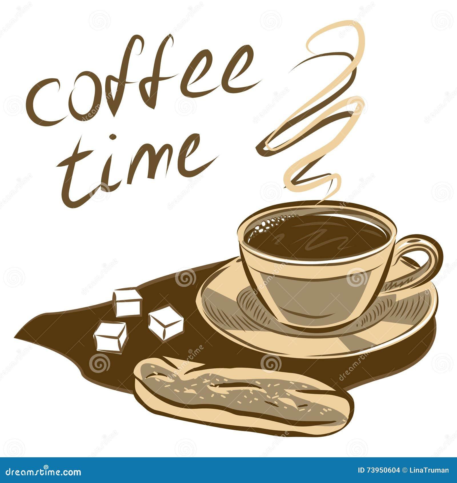 Clipart Kuchen Und Kaffee