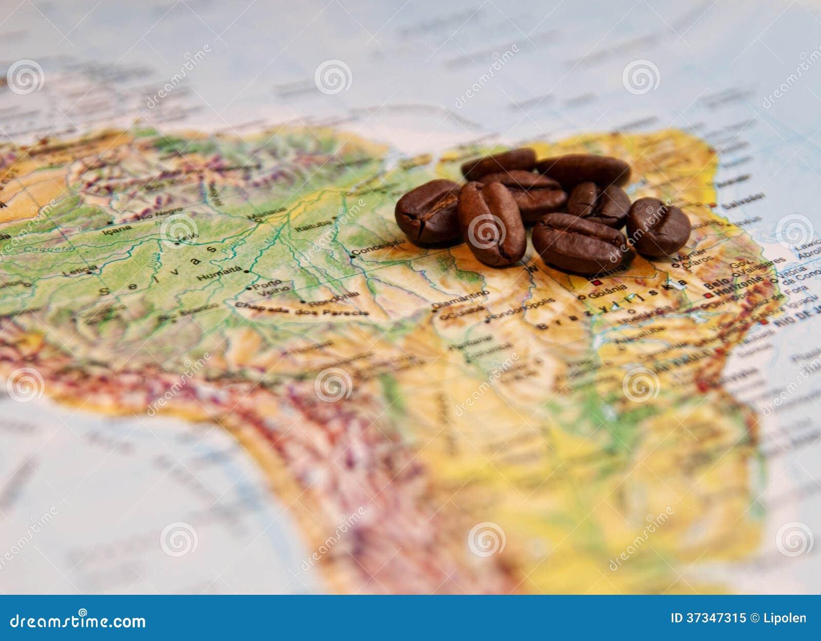 Kaffekorn på Sydamerika