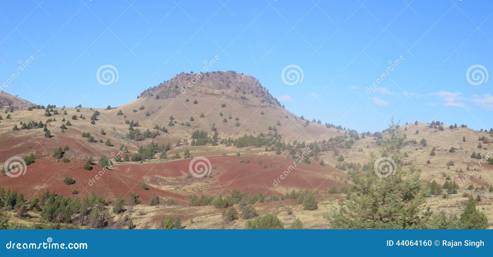 Kah - de Heuvels van de Reserveoregon van Nee- Ta