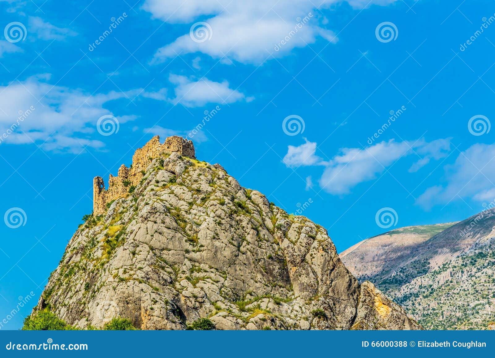 Kahta slott, Adiyaman, Turkiet