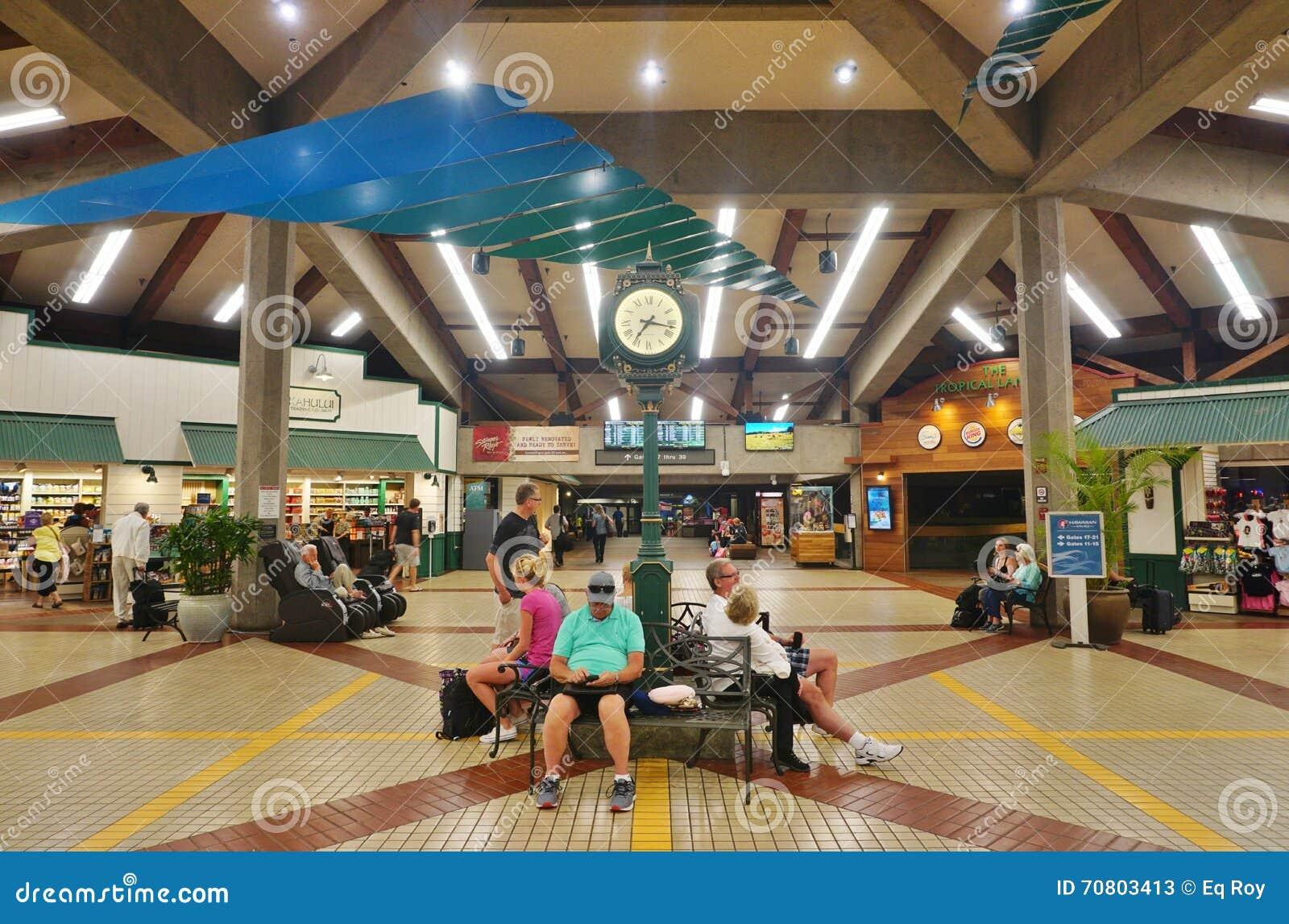 Kahului lotnisko w Maui, Hawaje (OGG)