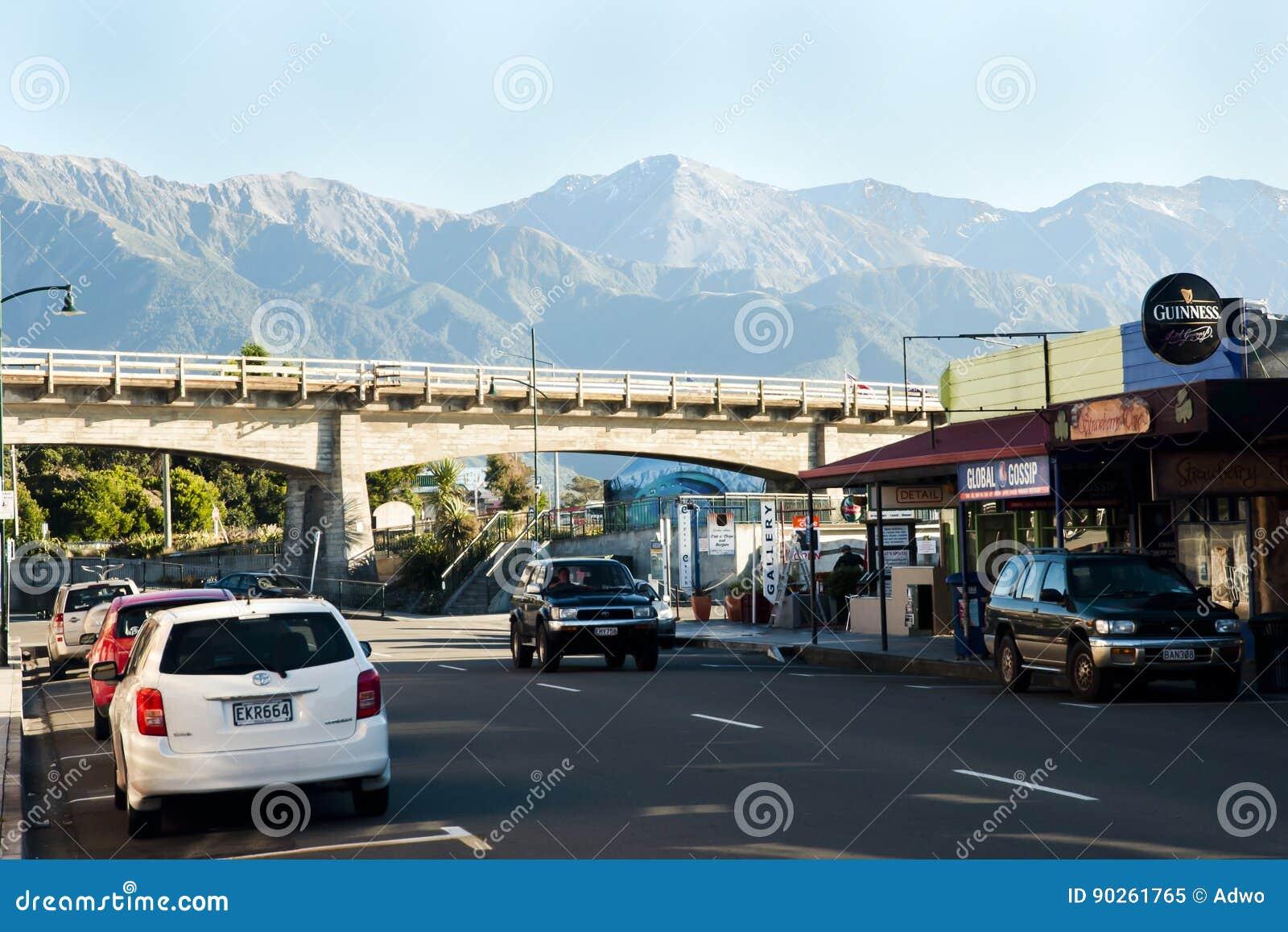 KAIKOURA, NEW ZEALAND - April 3, 2011: